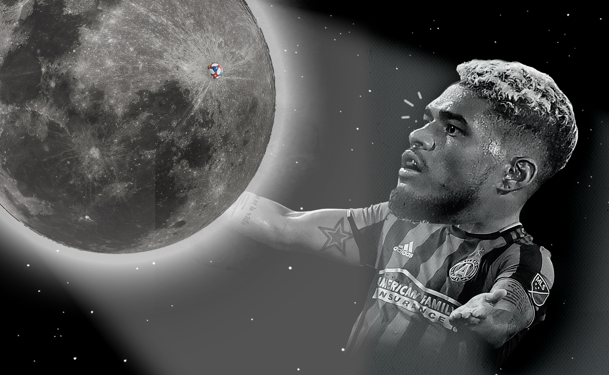Josef Martínez loves the moon