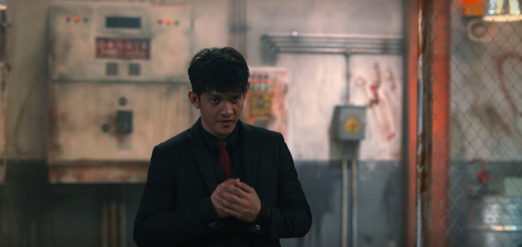 Iko Uwais prepares for a fight