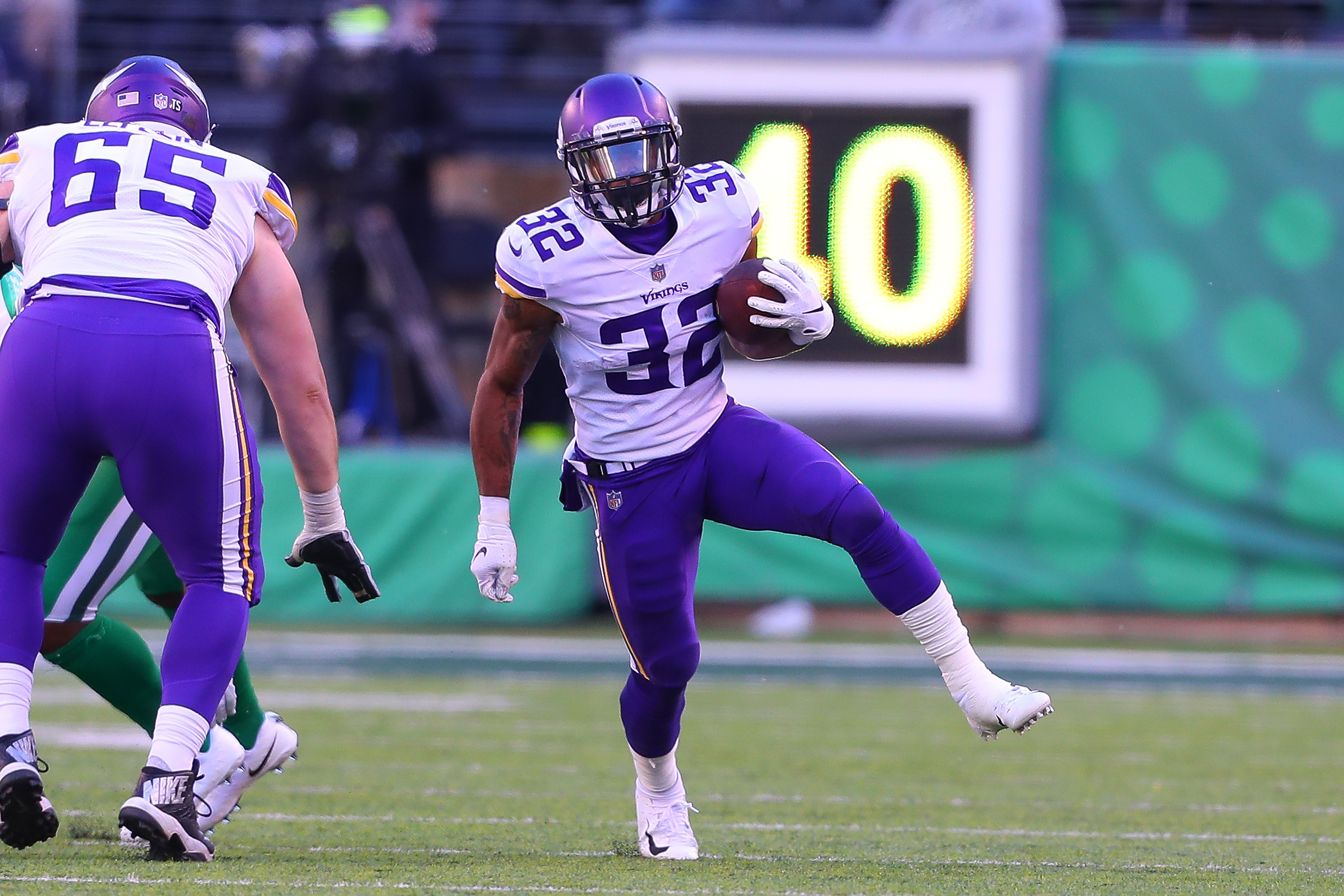 NFL: OCT 21 Vikings at Jets