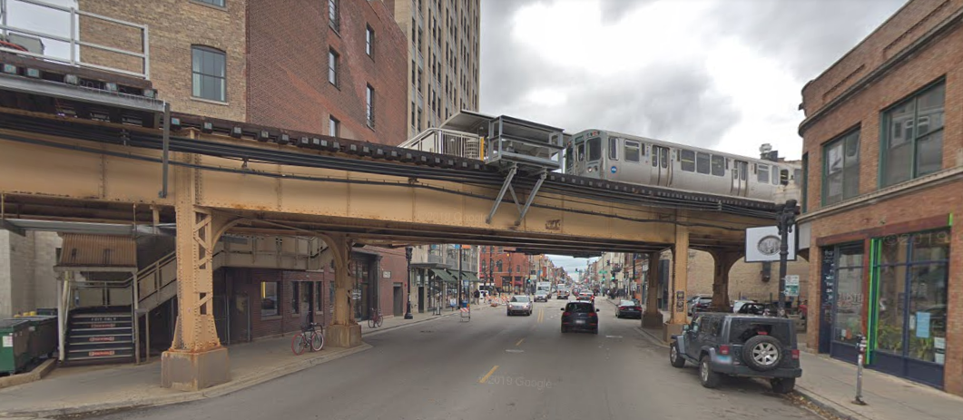 A man fell to his death July 21, 2019, while trying to climb onto a CTA Blue Line platform in the 2000 block of West North Avenue.