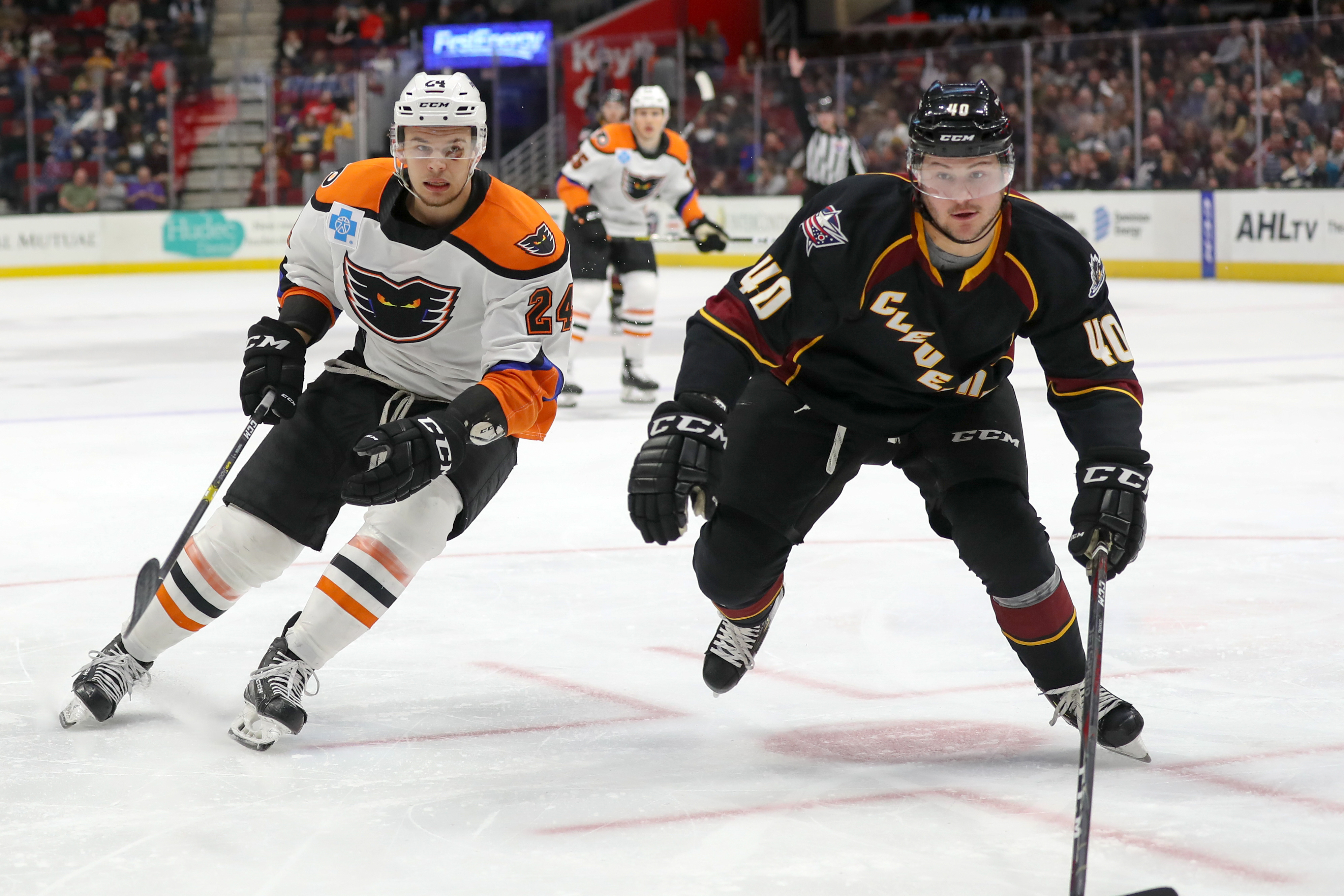 AHL: MAR 29 Lehigh Valley Phantoms at Cleveland Monsters