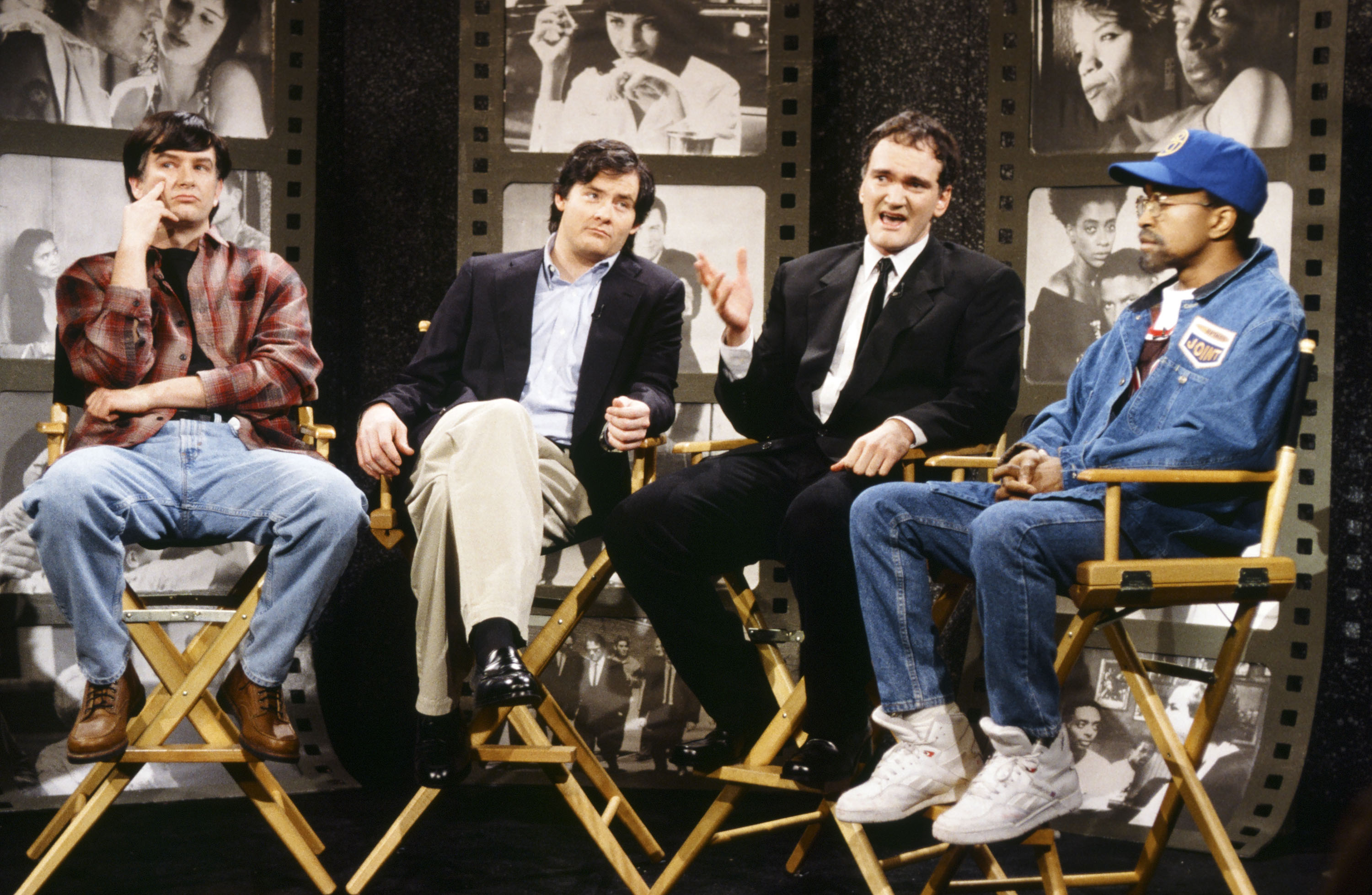 Remembering the time Quentin Tarantino hosted SNL, which was weird