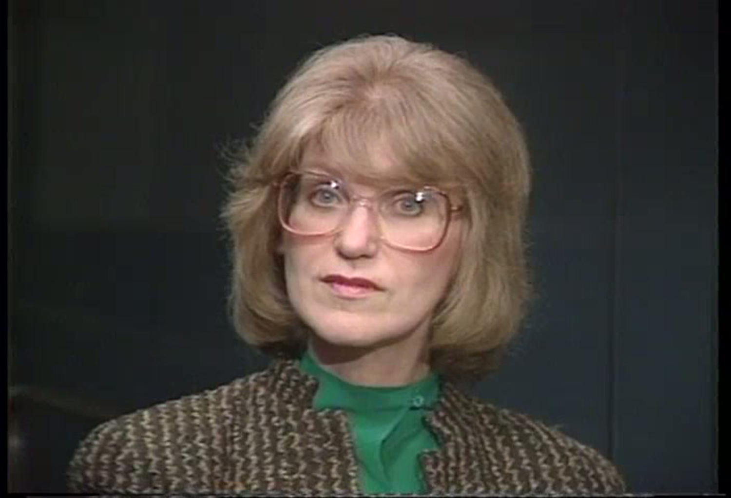 """She had this kind of quiet forcefulness,"" WMAQ-TV political editor Carol Marin said of Lois Wille (above). ""And she rejoiced in other people's successes."""