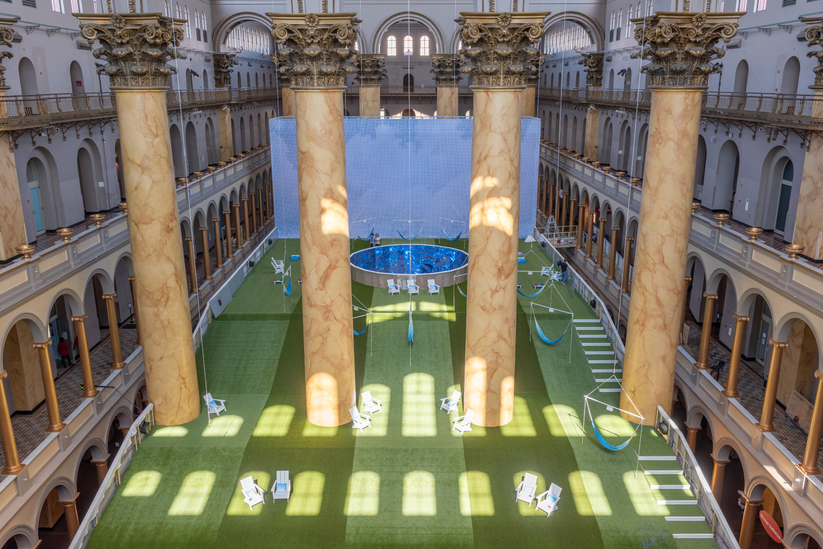 Video: Watch the National Building Museum's 'Lawn' exhibit come to life
