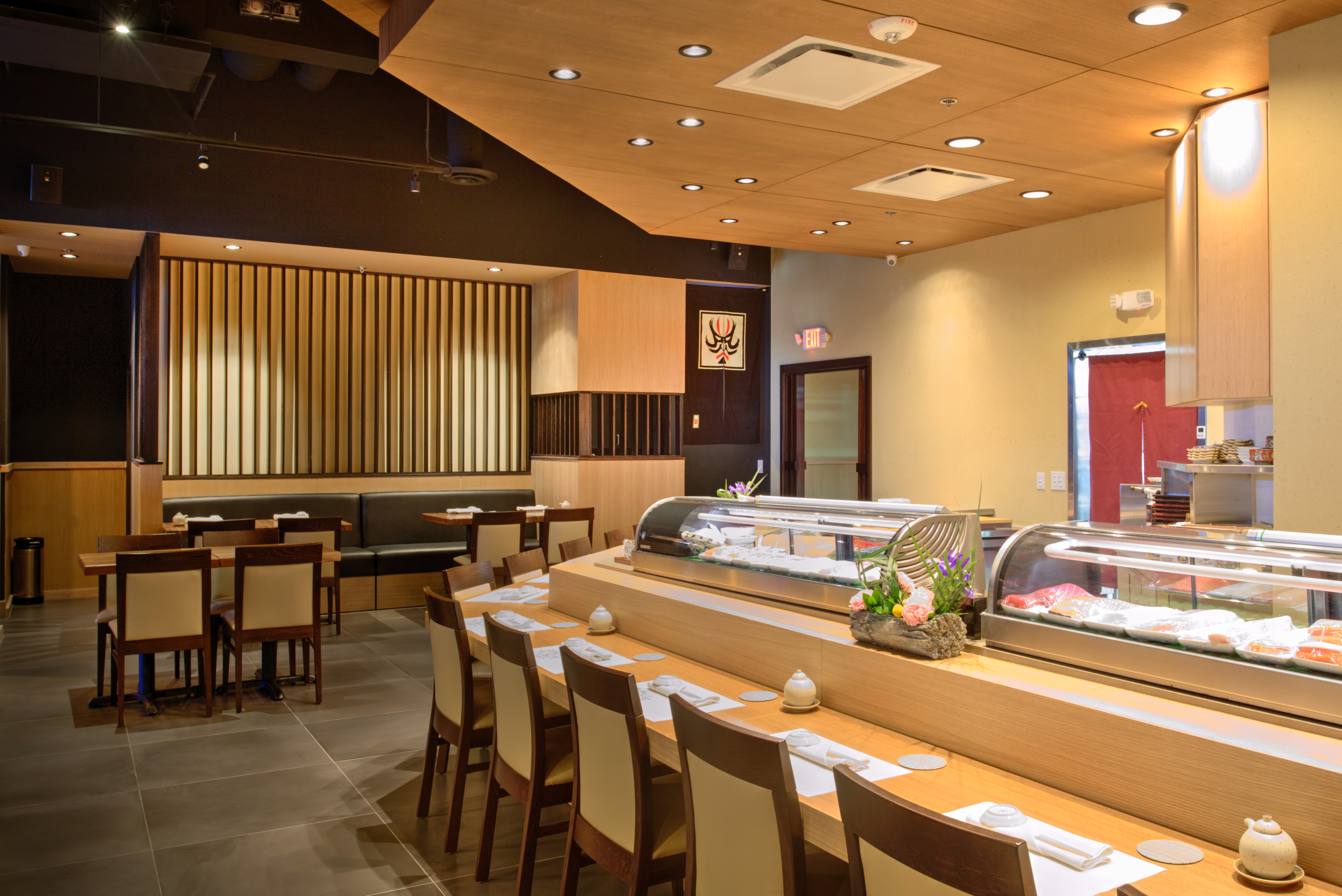 The Simplicity of Sushi Kame's Design Offers the Perfect Backdrop for Out-of-This-World Dinners