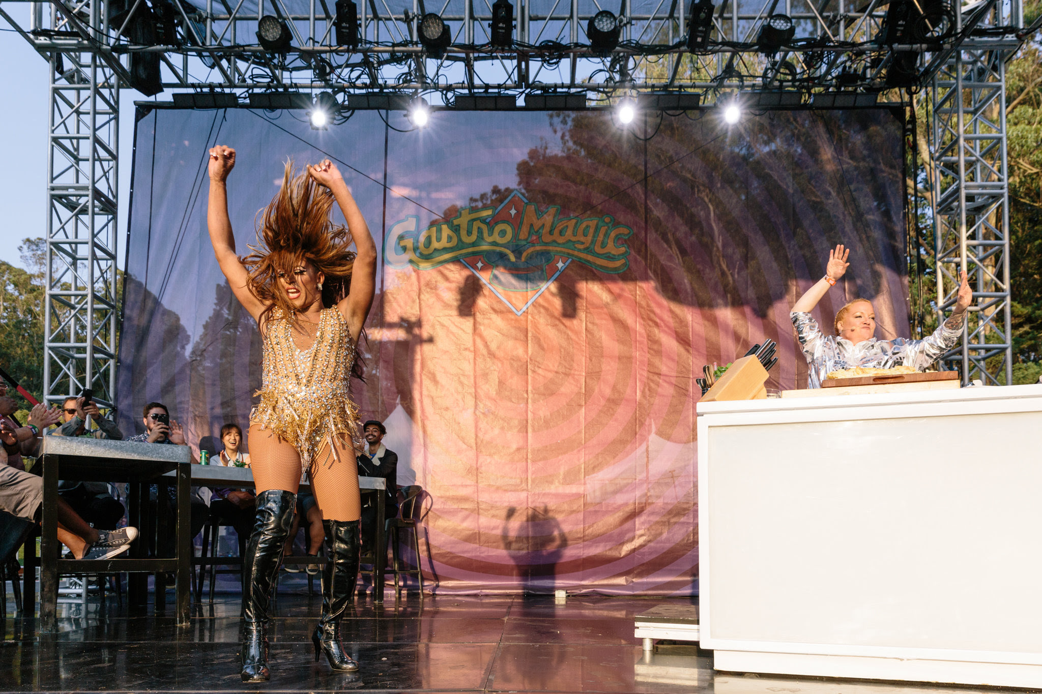 Outside Lands Culinary Stage Stars SQIRL, Anderson .Paak, and Bon Appétit Test Kitchen