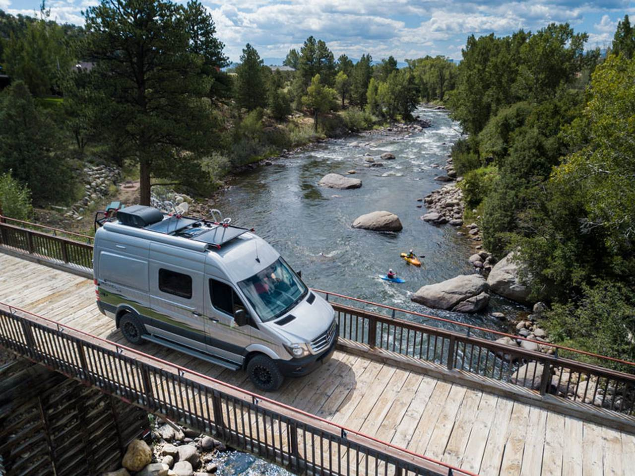 Take a van life vacation in a Winnebago Revel