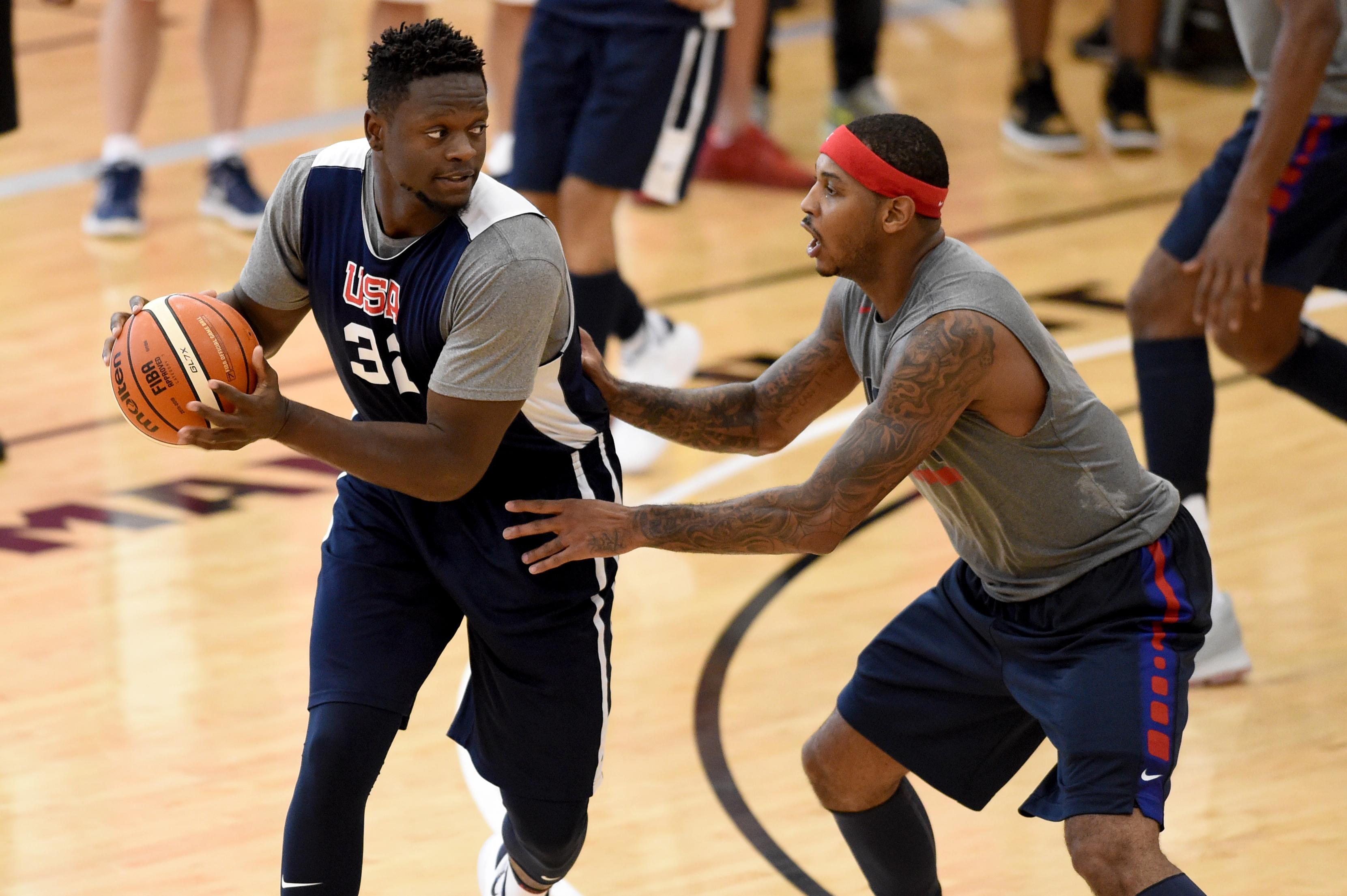 USA Basketball Men's Select Team Practice