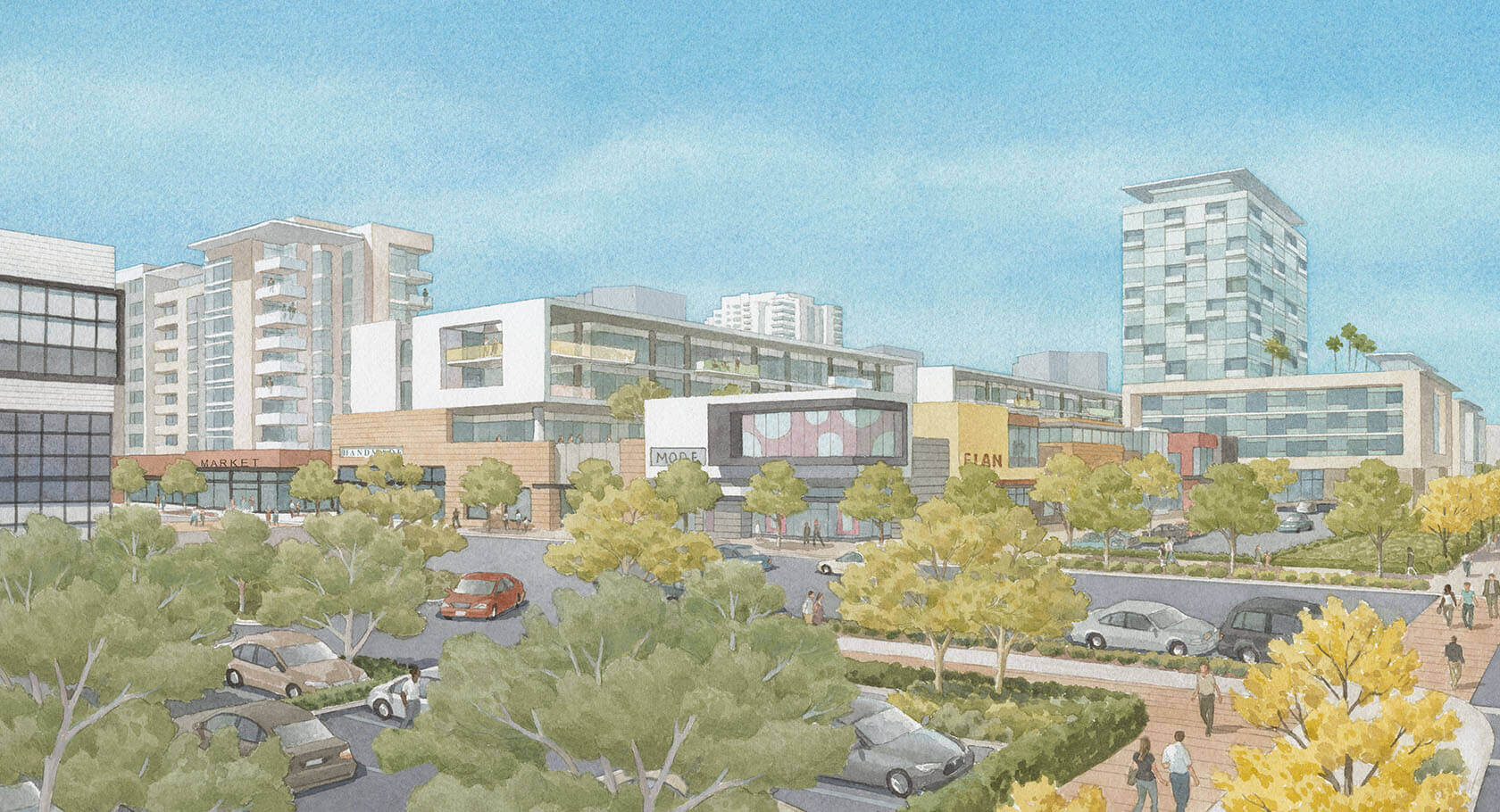 City approves major redevelopment of Warner Center's Westfield Promenade