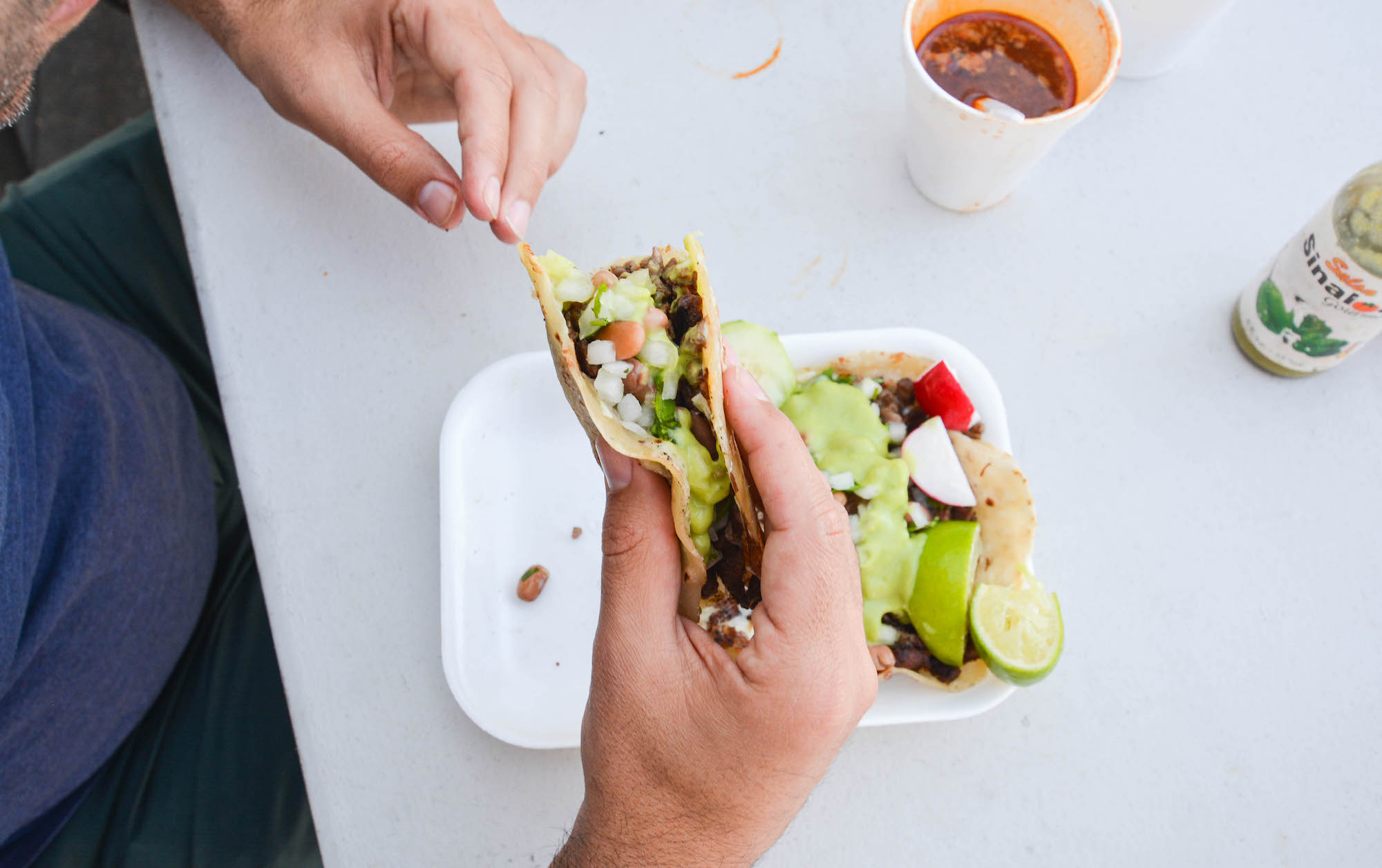 Ten of LA's Best Tijuana-Style Taco Spots, Mapped