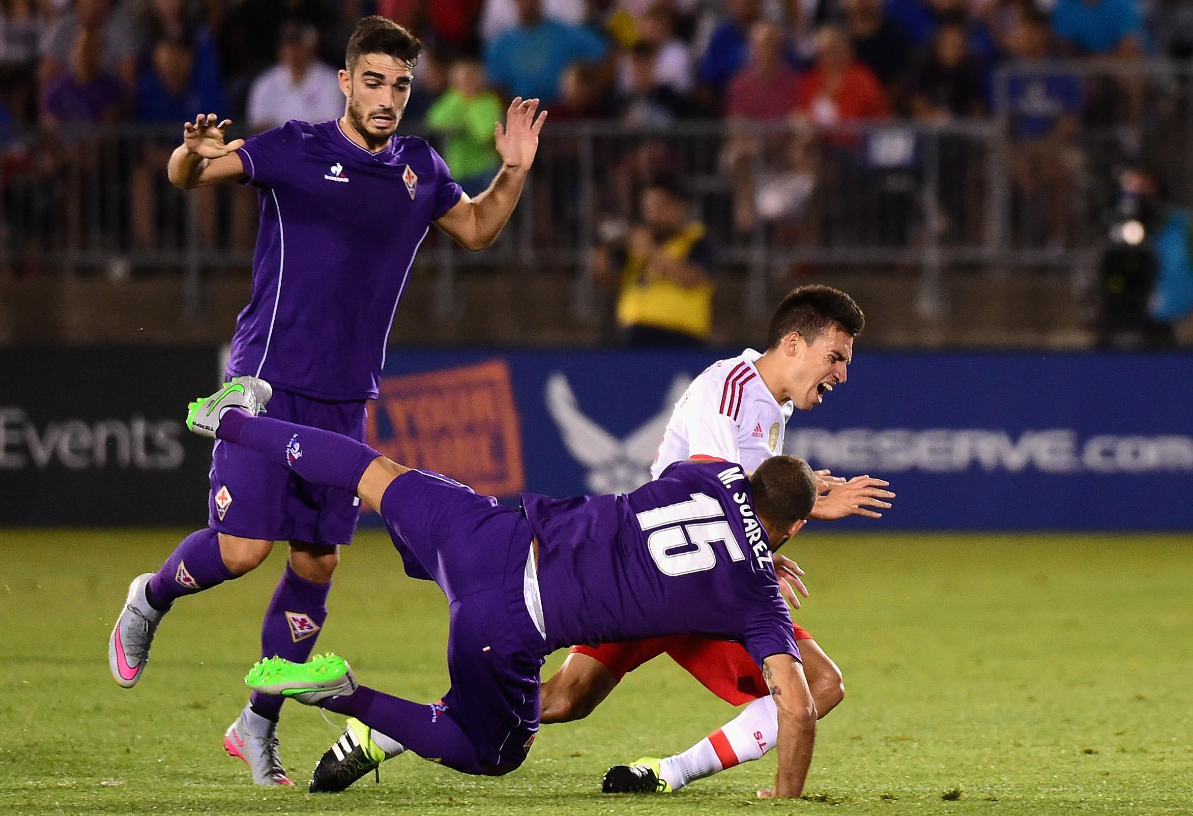 International Champions Cup 2015 - AFC Fiorentina v Benfica