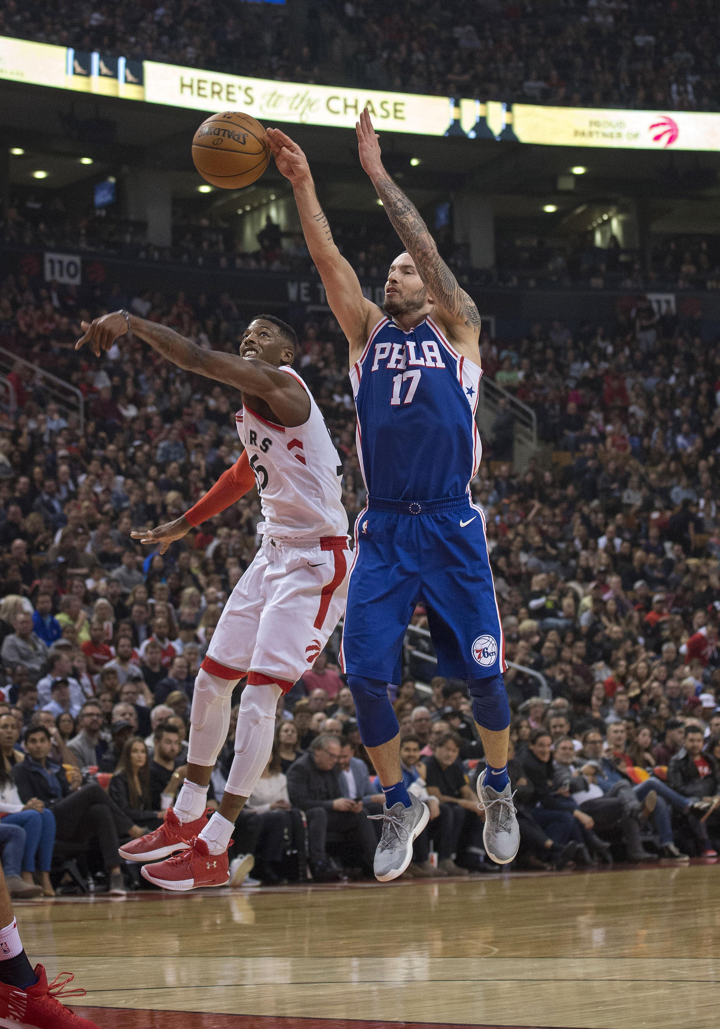 NBA: Philadelphia 76ers at Toronto Raptors