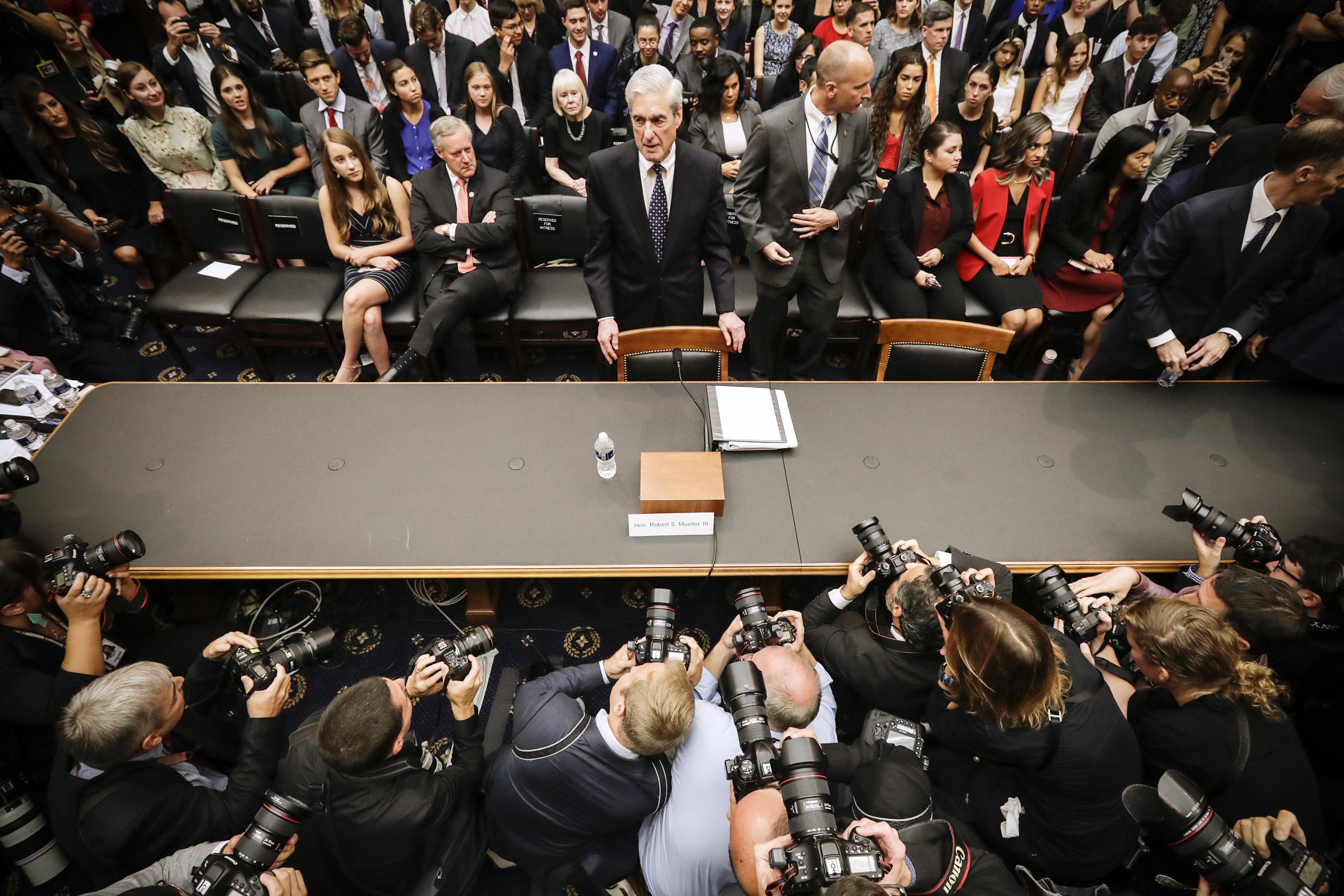 Read Robert Mueller's opening statement