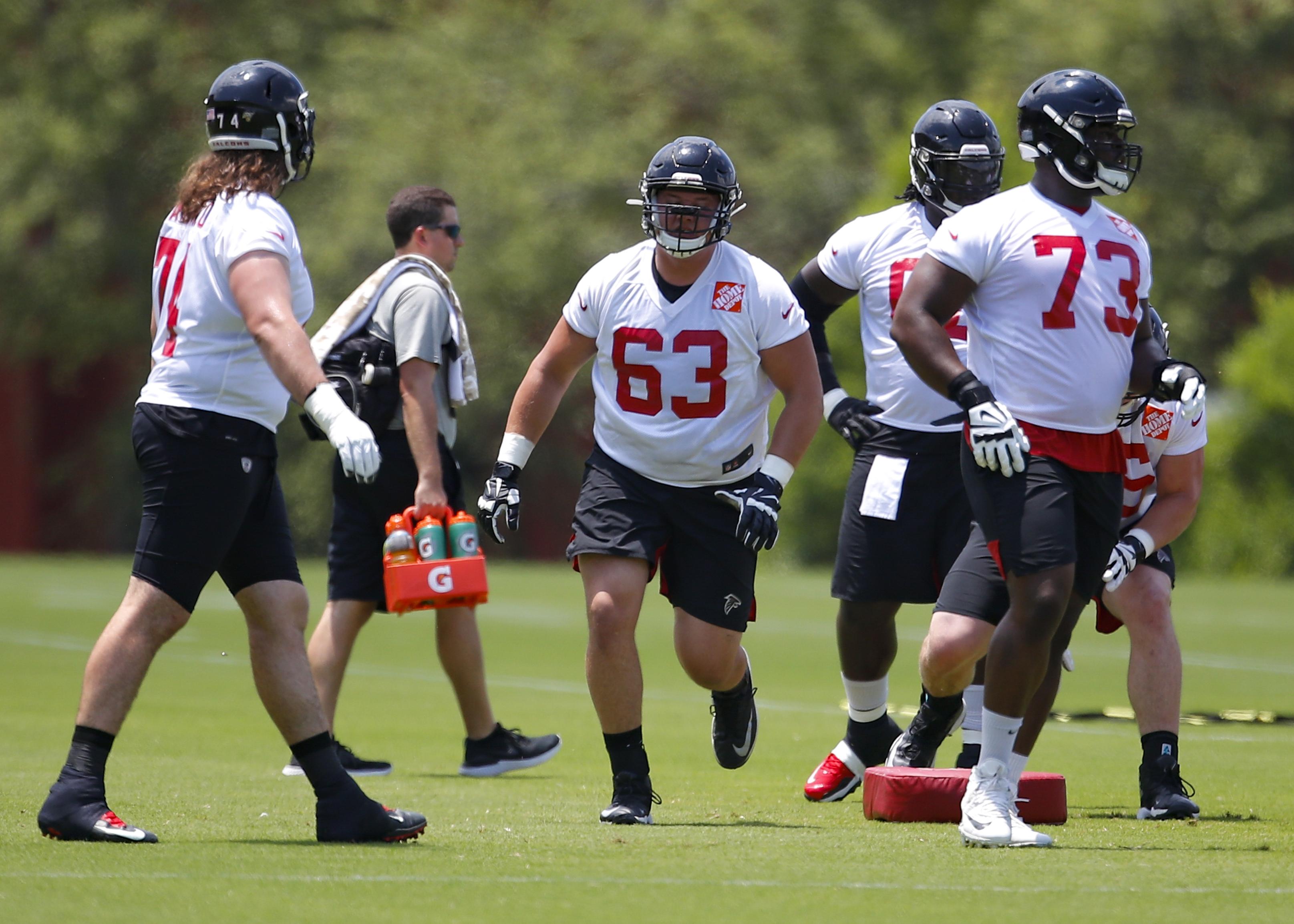 NFL: JUN 11 Atlanta Falcons Minicamp