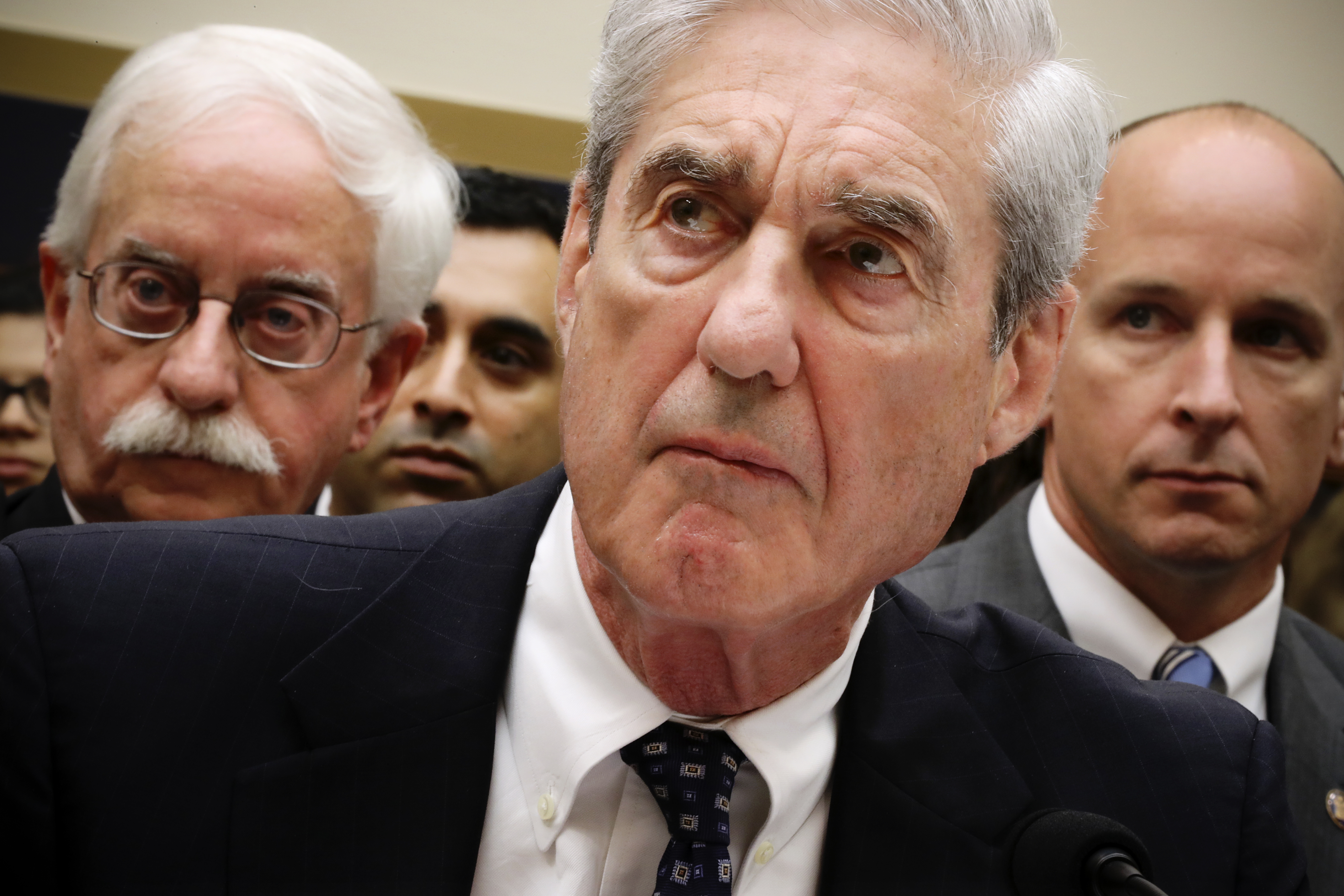 Mueller said Trump could be indicted once he leaves office