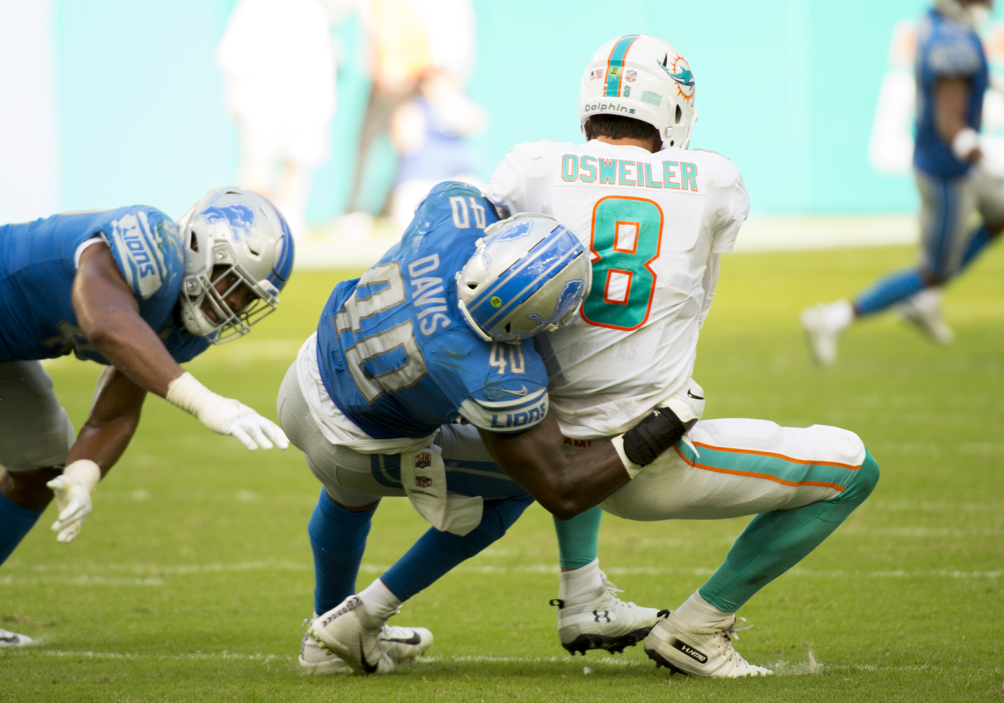 NFL: OCT 21 Lions at Dolphins