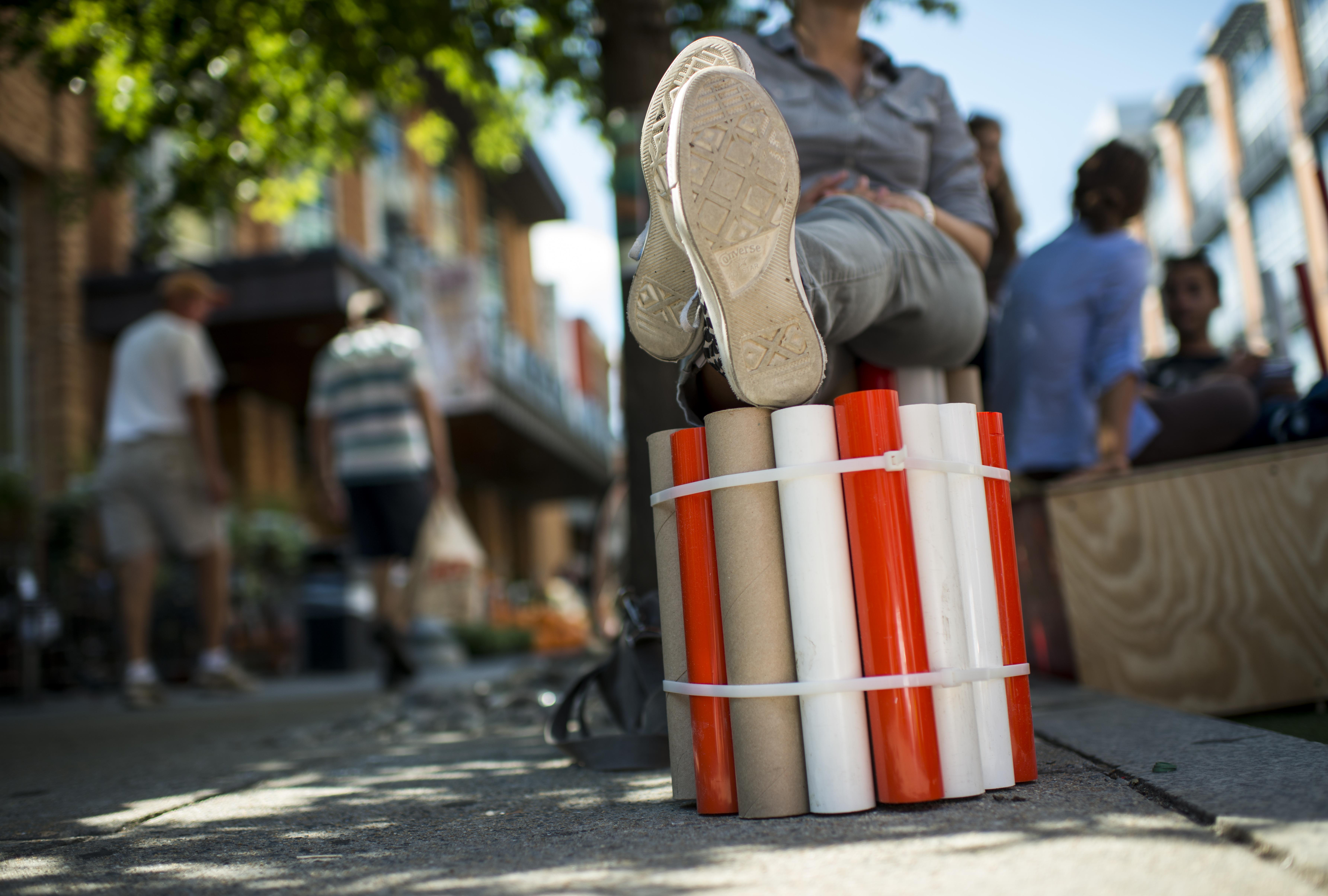 D.C. parking spots will be turned into temporary mini parks in September