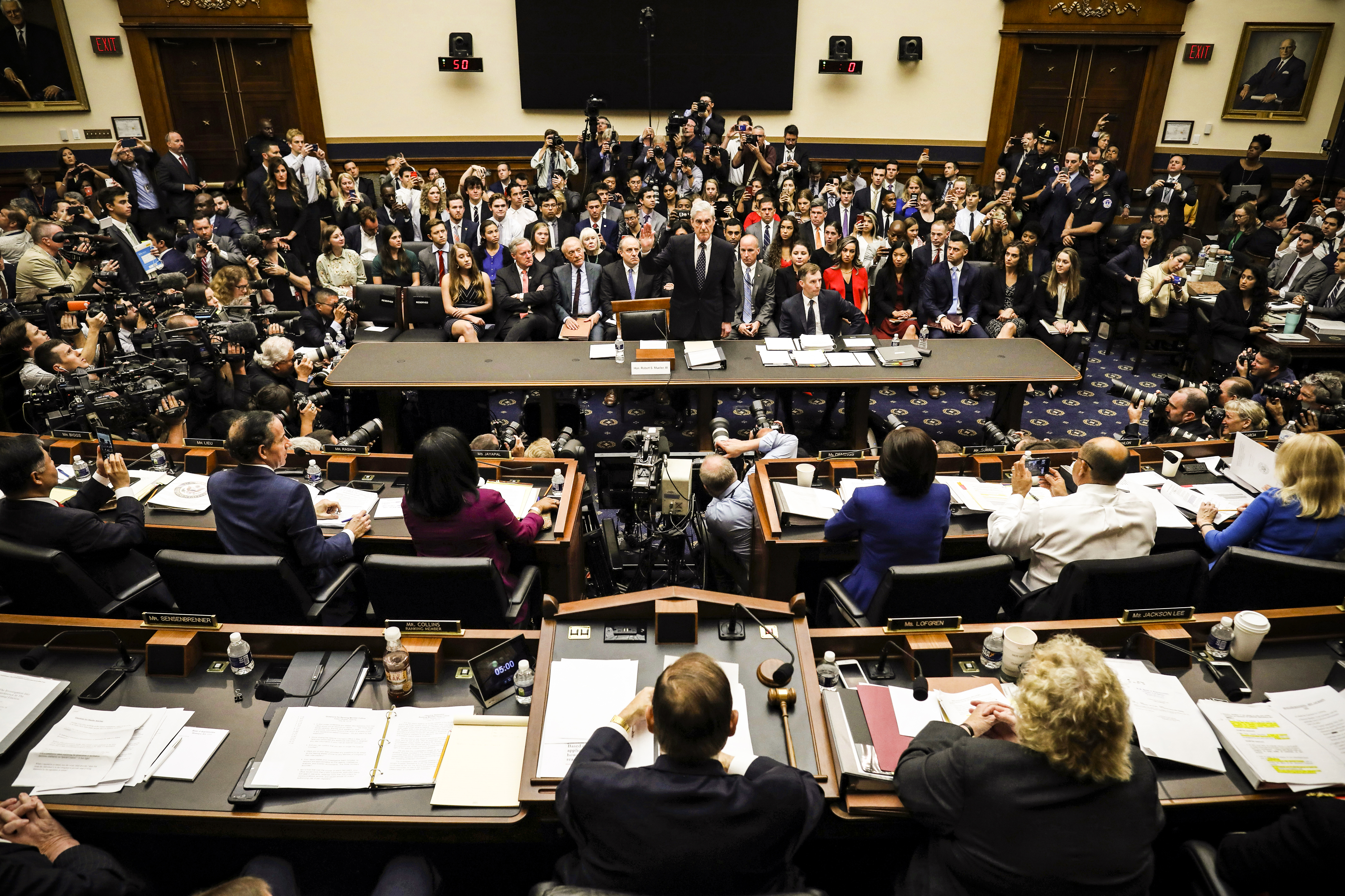 5 losers and 0 winners from Robert Mueller's testimony to the House of Representatives