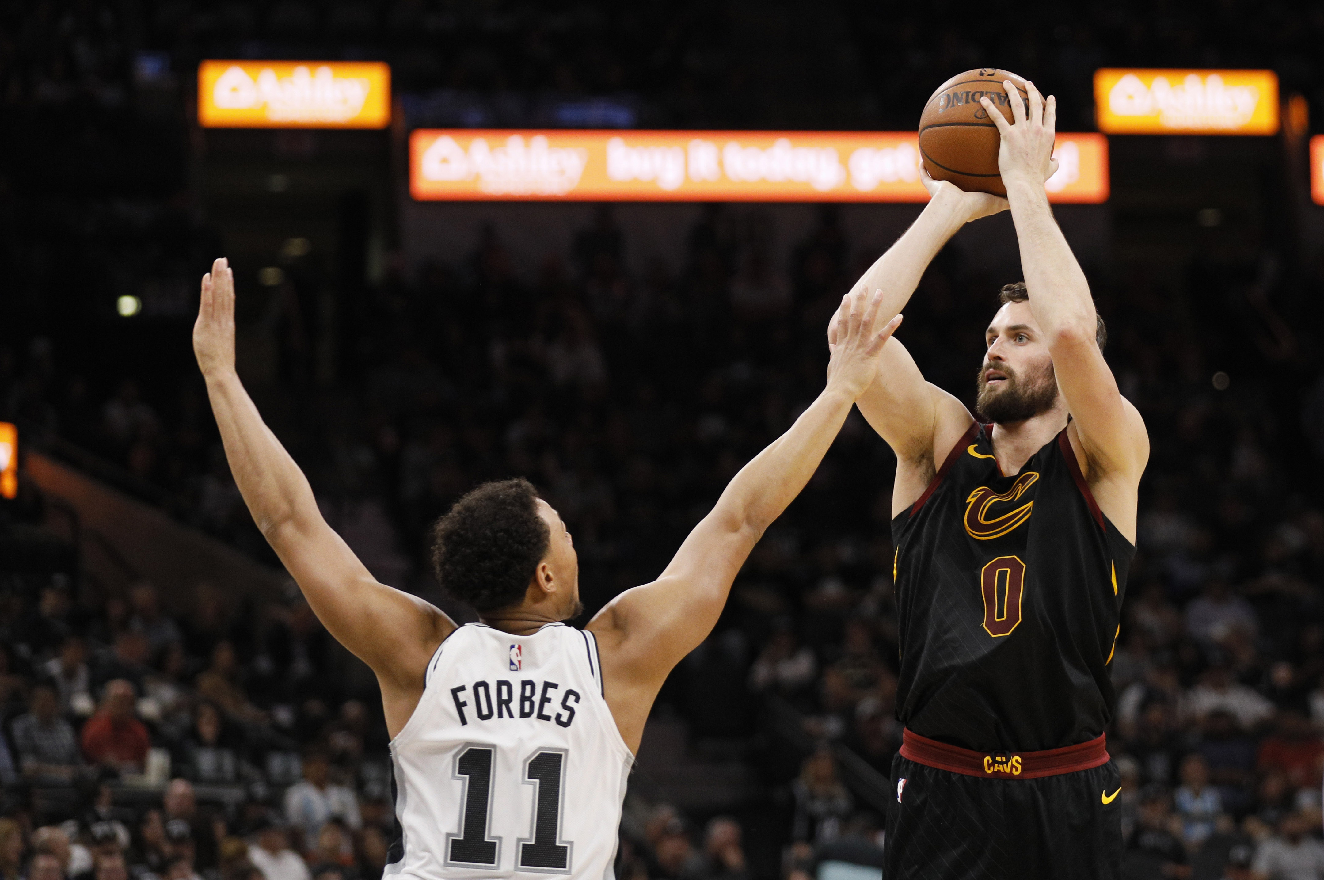 NBA: Cleveland Cavaliers at San Antonio Spurs