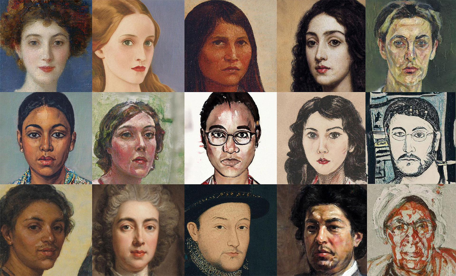 This AI makes you look like a masterpiece — while teaching you about its own bias