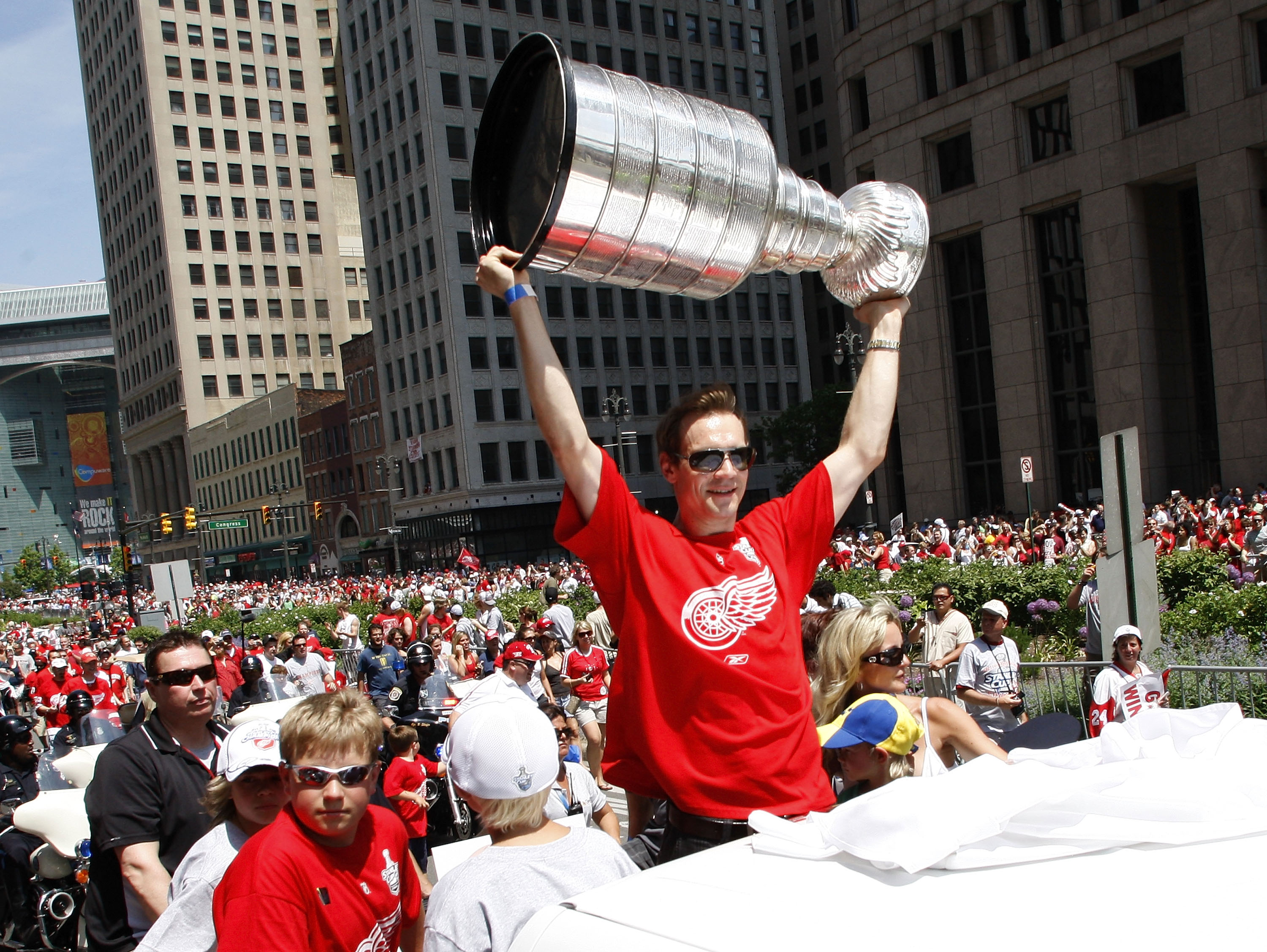 Detroit Red Wings Stanley Cup Victory Parade