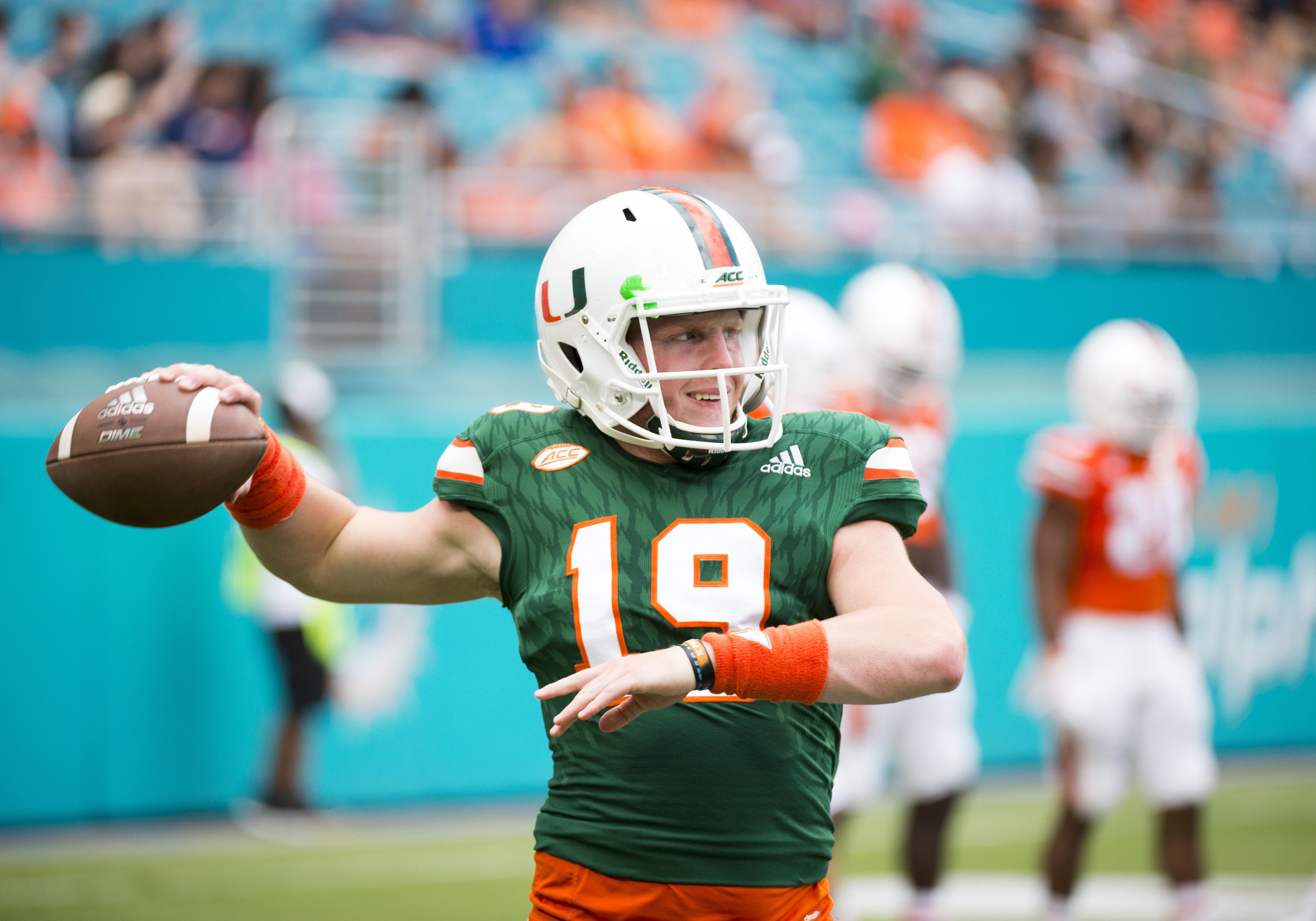 COLLEGE FOOTBALL: APR 14 Miami Spring Game