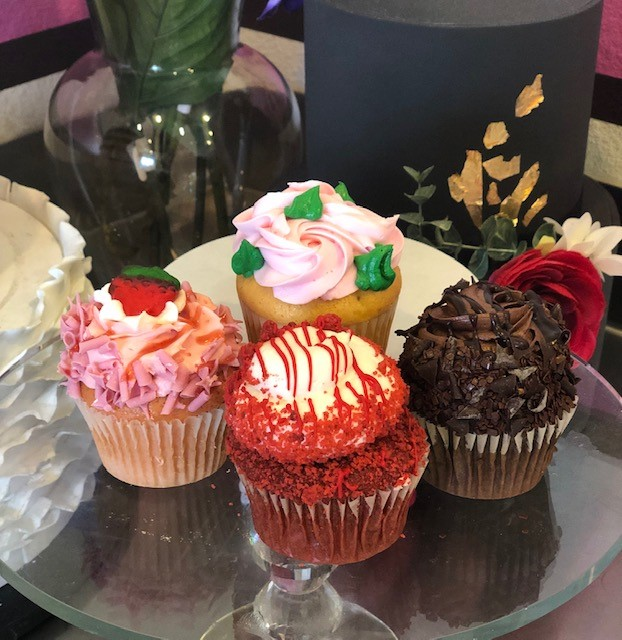 Assorted cupcakes at Caked LV