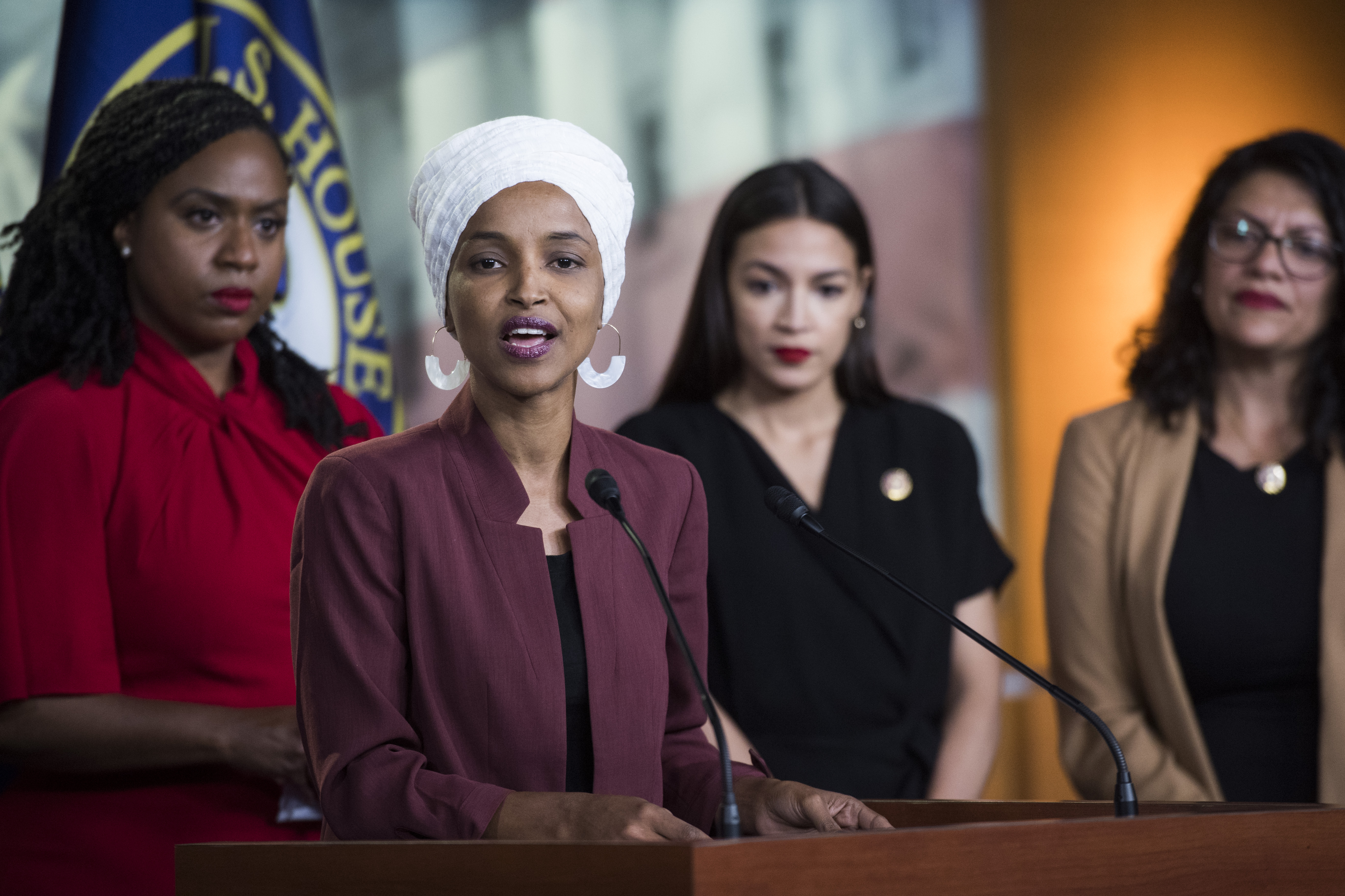 """Women voters of color are watching how Democrats respond to attacks on """"the Squad"""""""