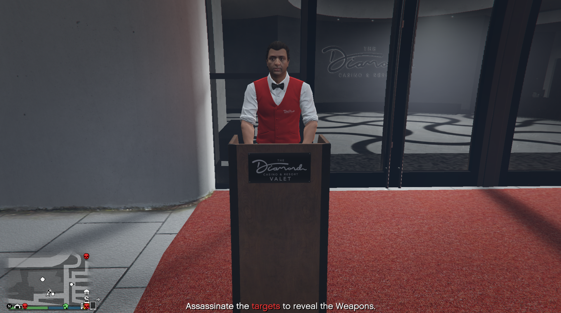 GTA Online players won't stop killing the casino valet