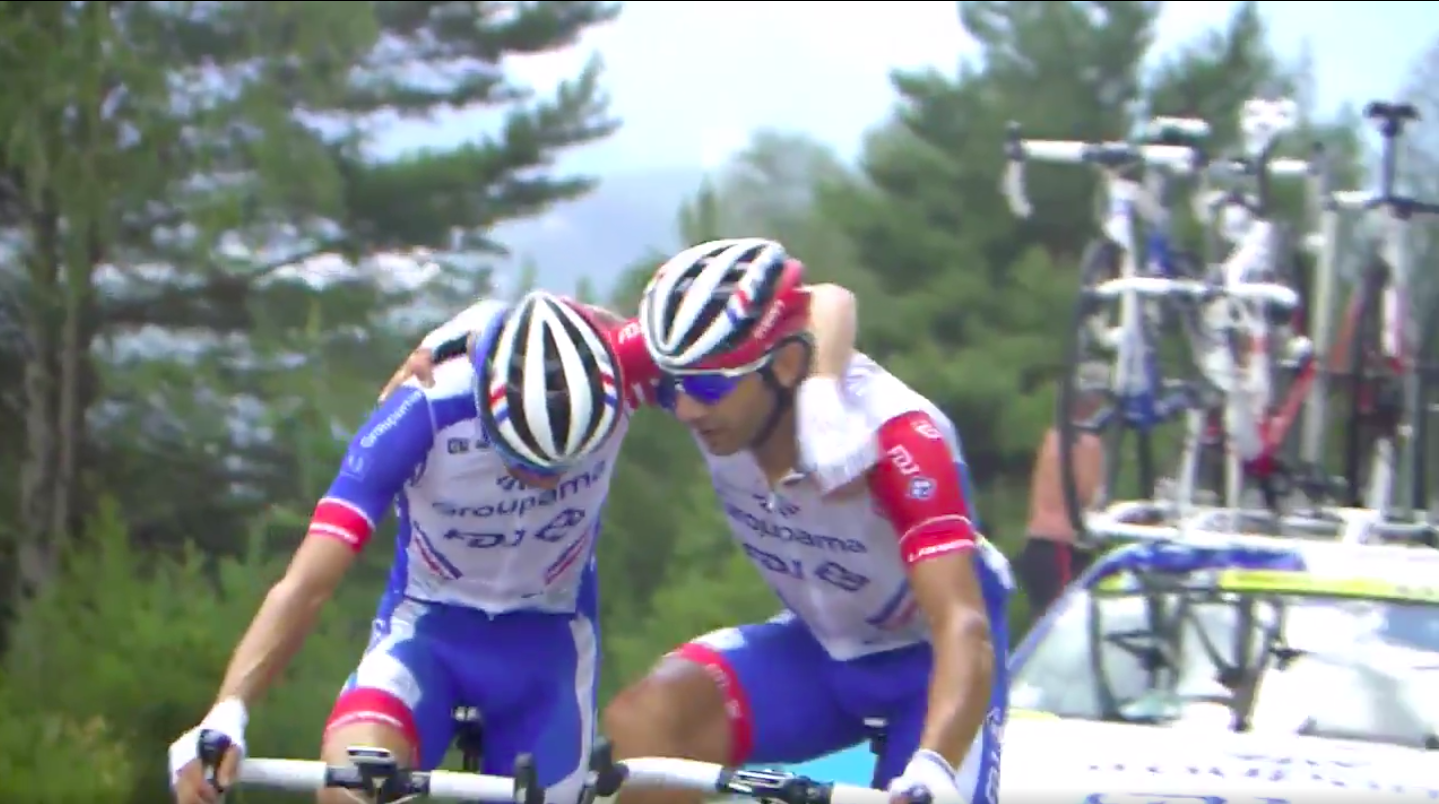 Thibaut Pinot abandoned the Tour de France because life is so unfair