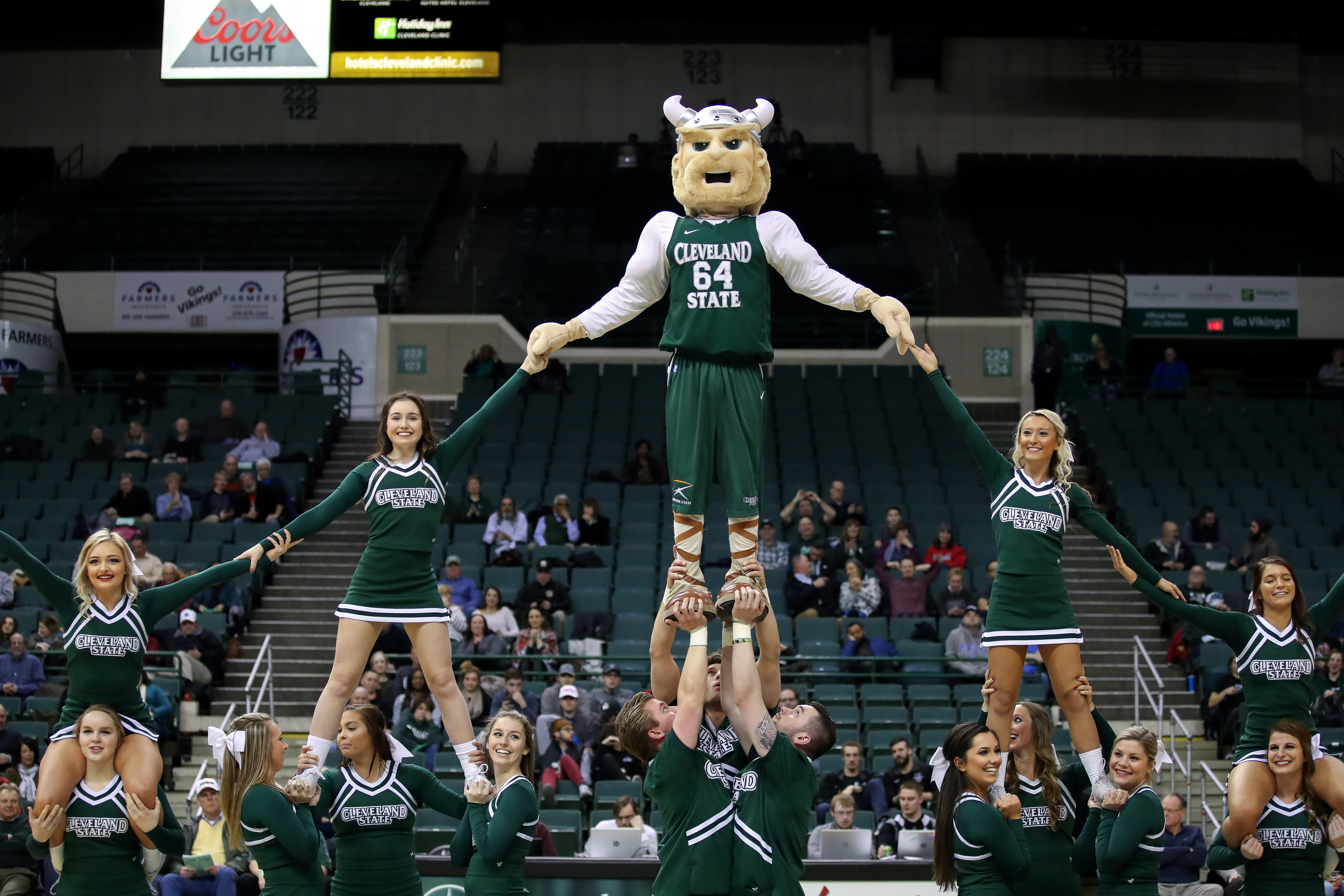 COLLEGE BASKETBALL: FEB 01 Wright State at Cleveland State