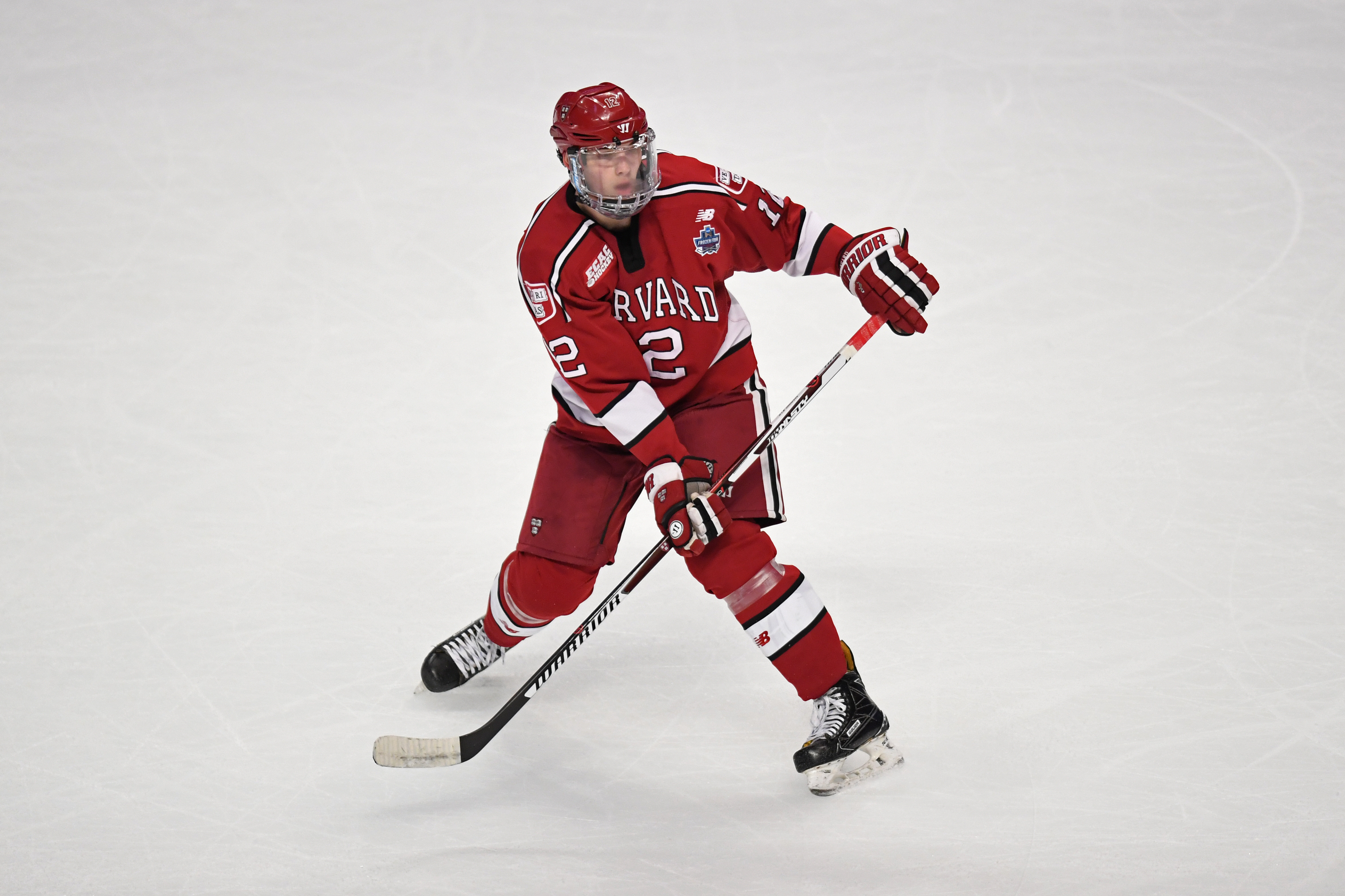 NCAA HOCKEY: APR 06 Frozen Four Semifinal - Harvard v Minnesota-Duluth