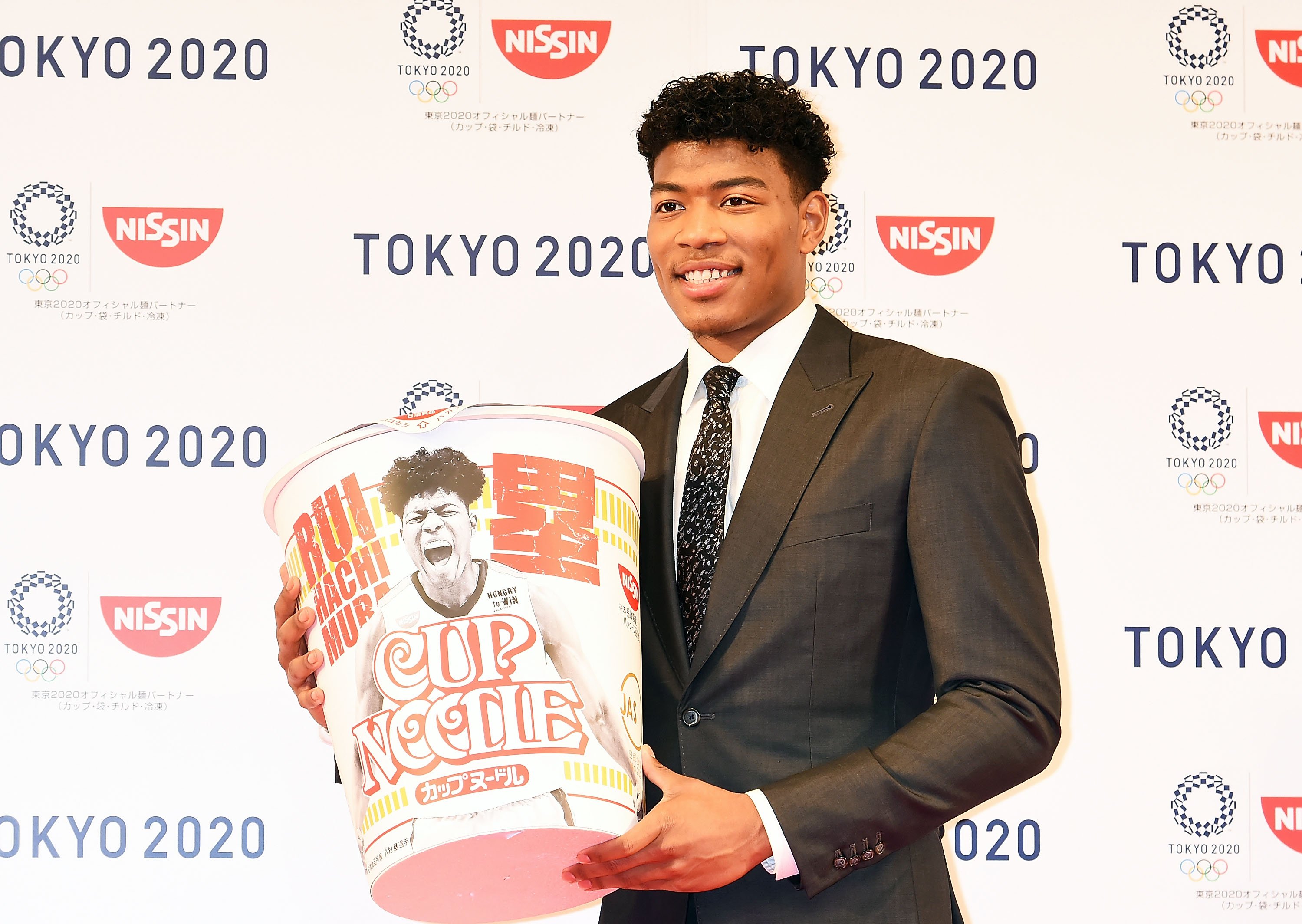 Rui Hachimura Signs Sponsorship With Nissin Foods