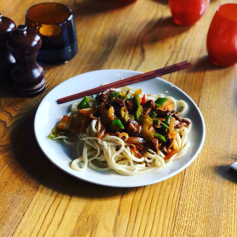 Uyghur lagman at Karvon on Finchley Road, one restaurant to try this weekend