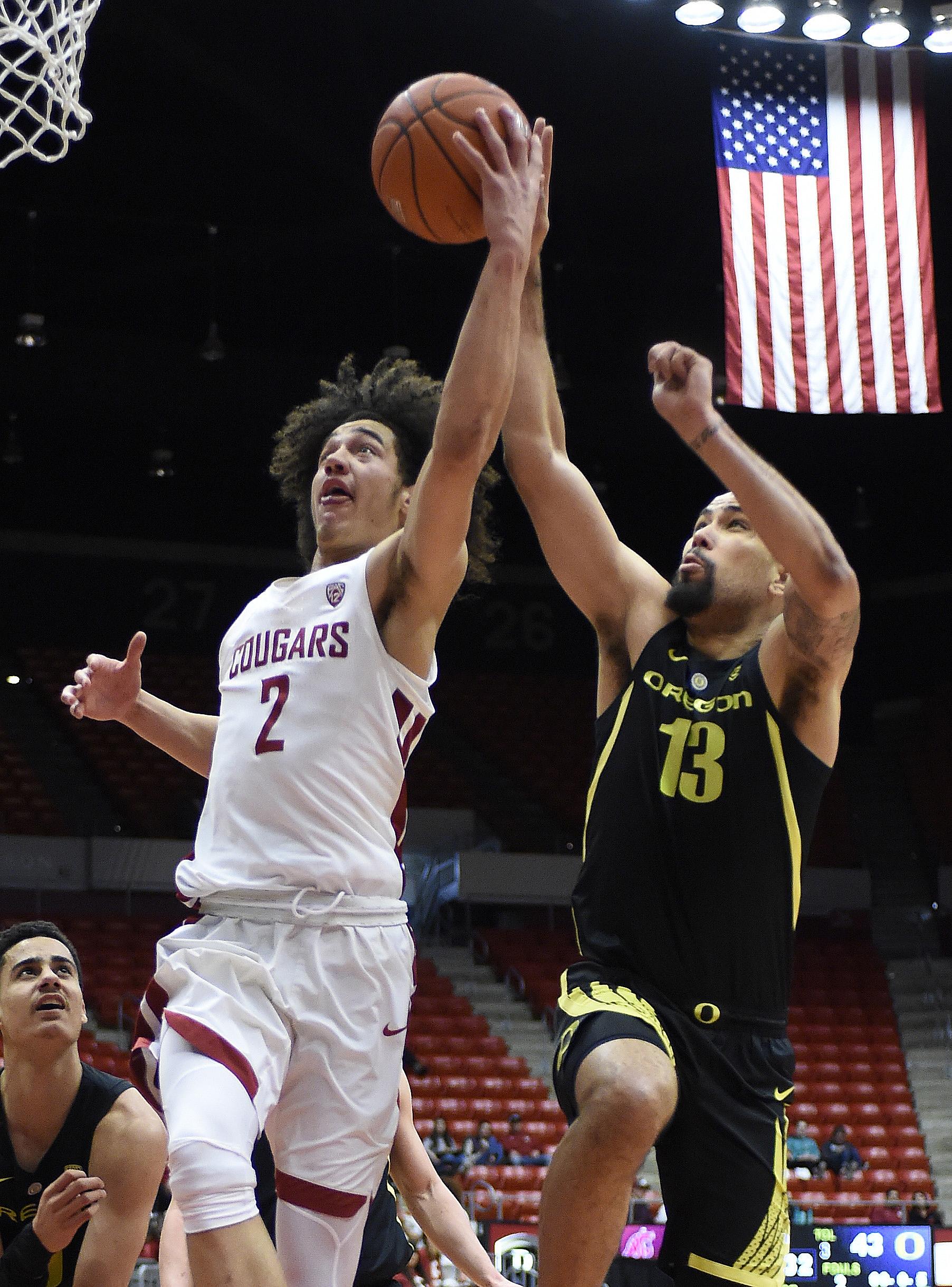 NCAA Basketball: Oregon at Washington State