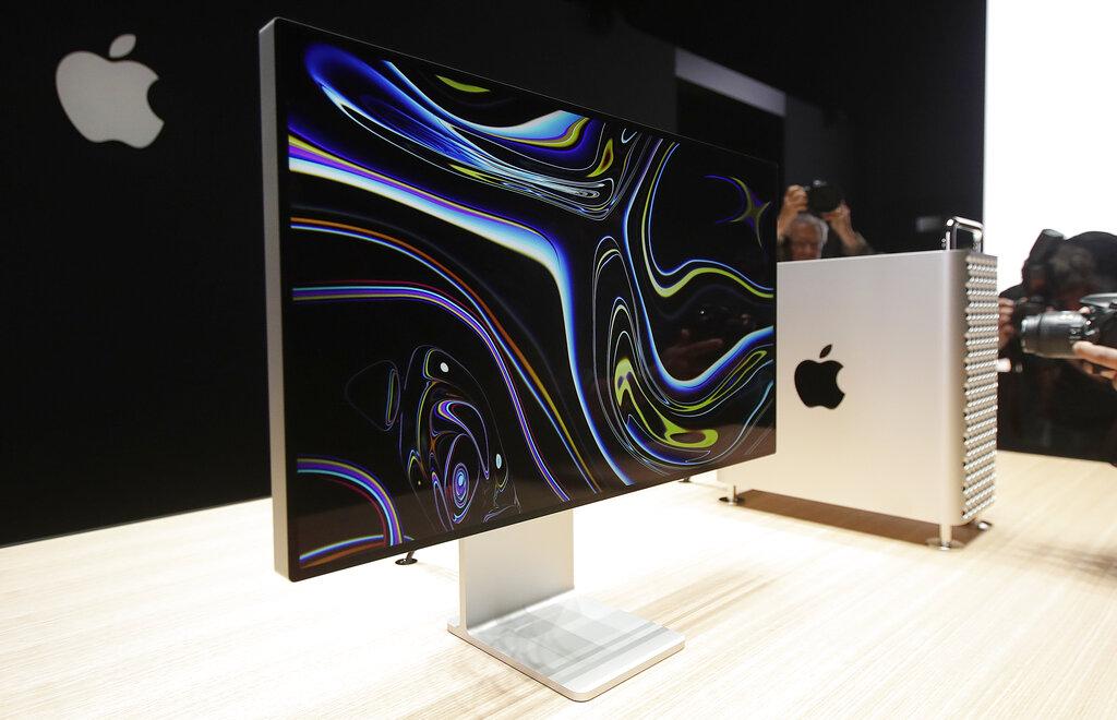 Mac Pro computer on a desk