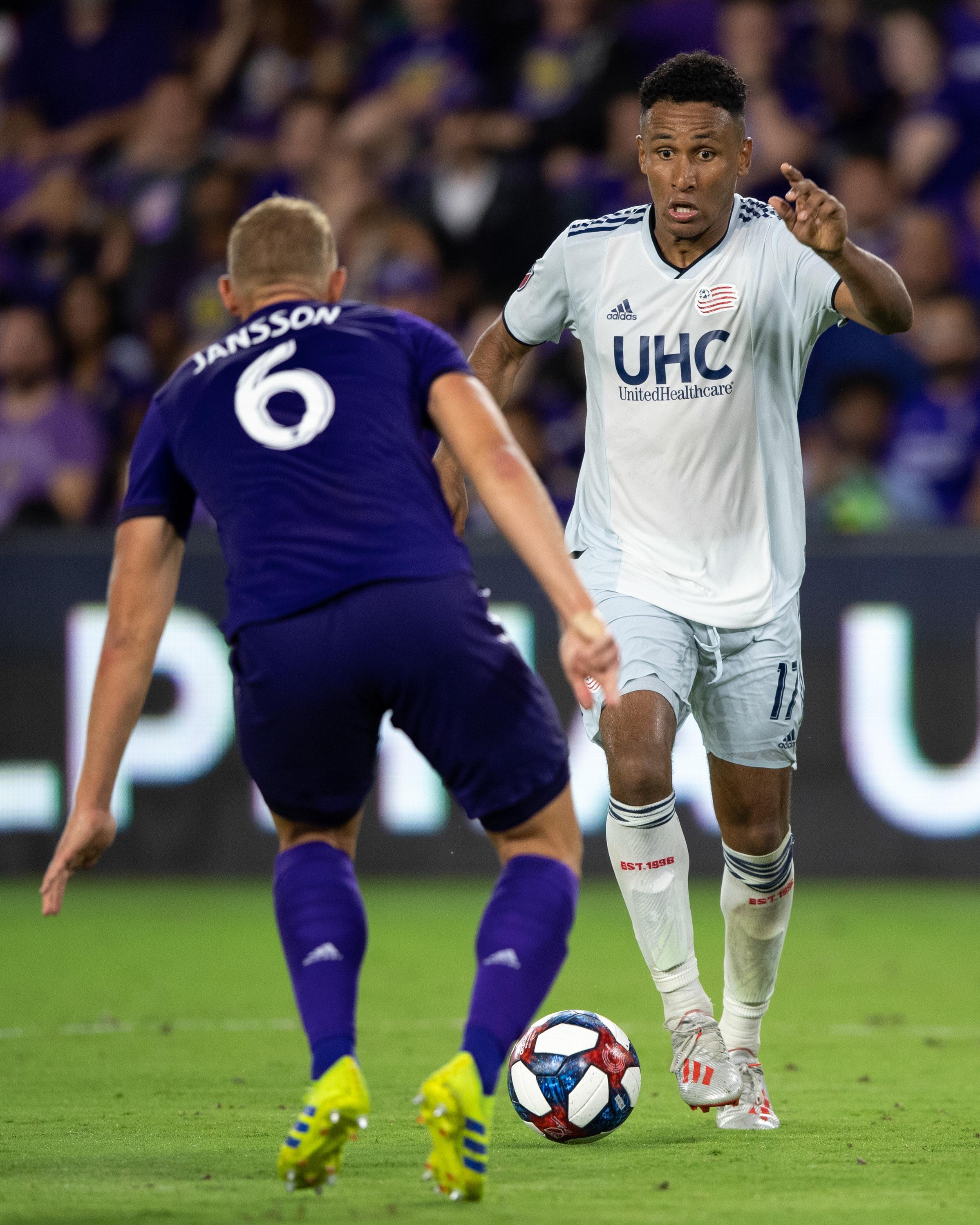 MLS: U.S. Open Cup-New England Revolution at Orlando City FC