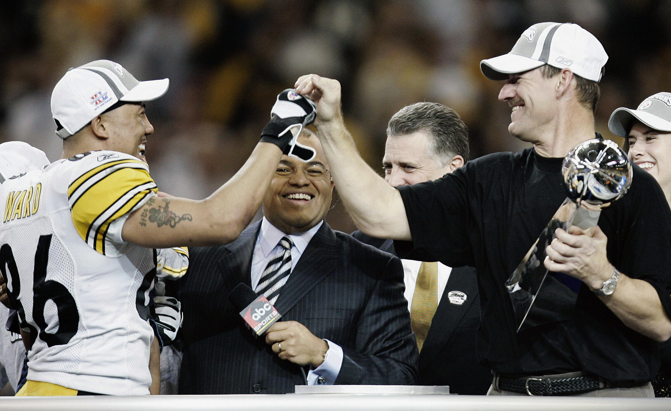 Pittsburgh Steelers Head Coach Bill Cowh