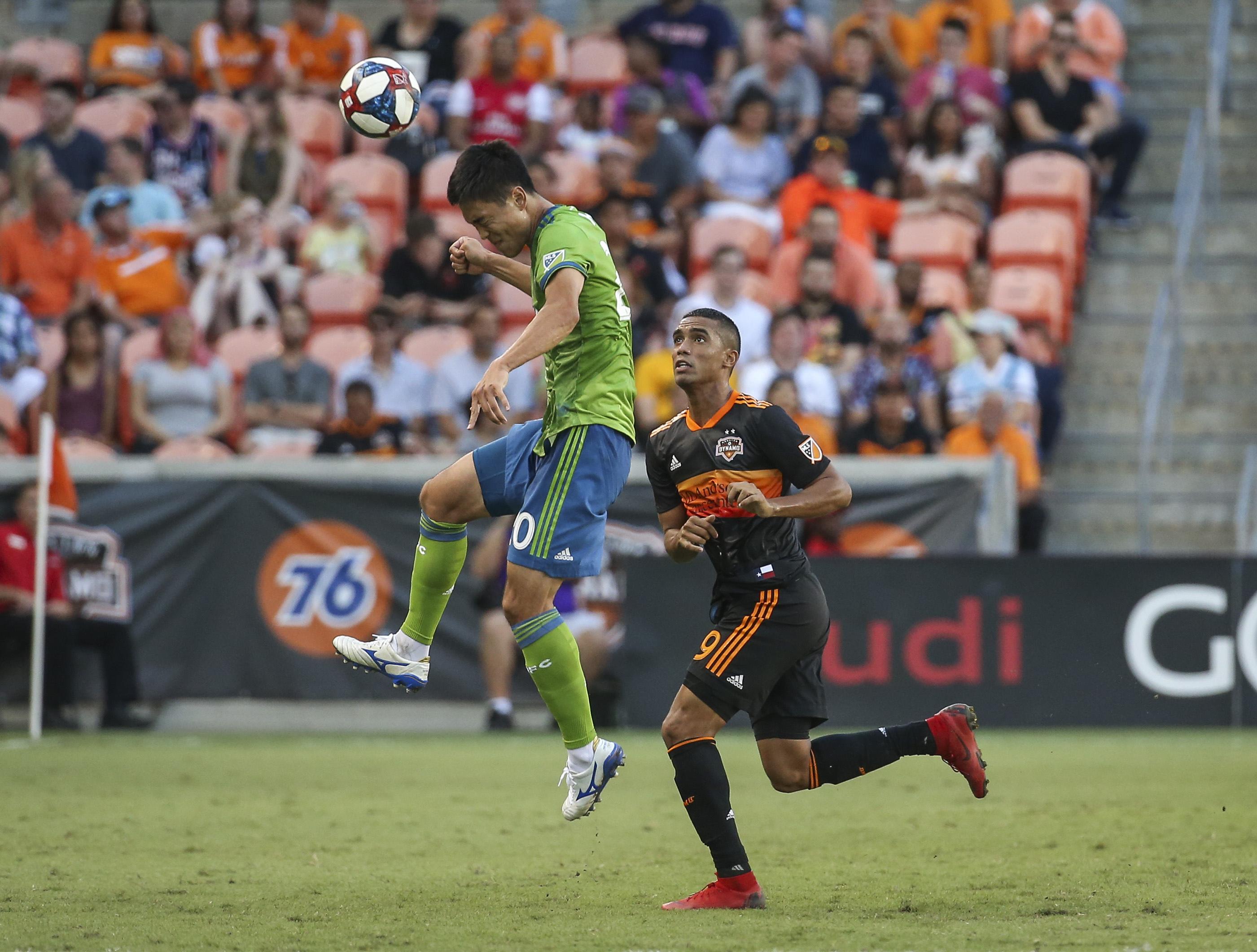 MLS:西雅图海湾FC休斯顿迪纳摩