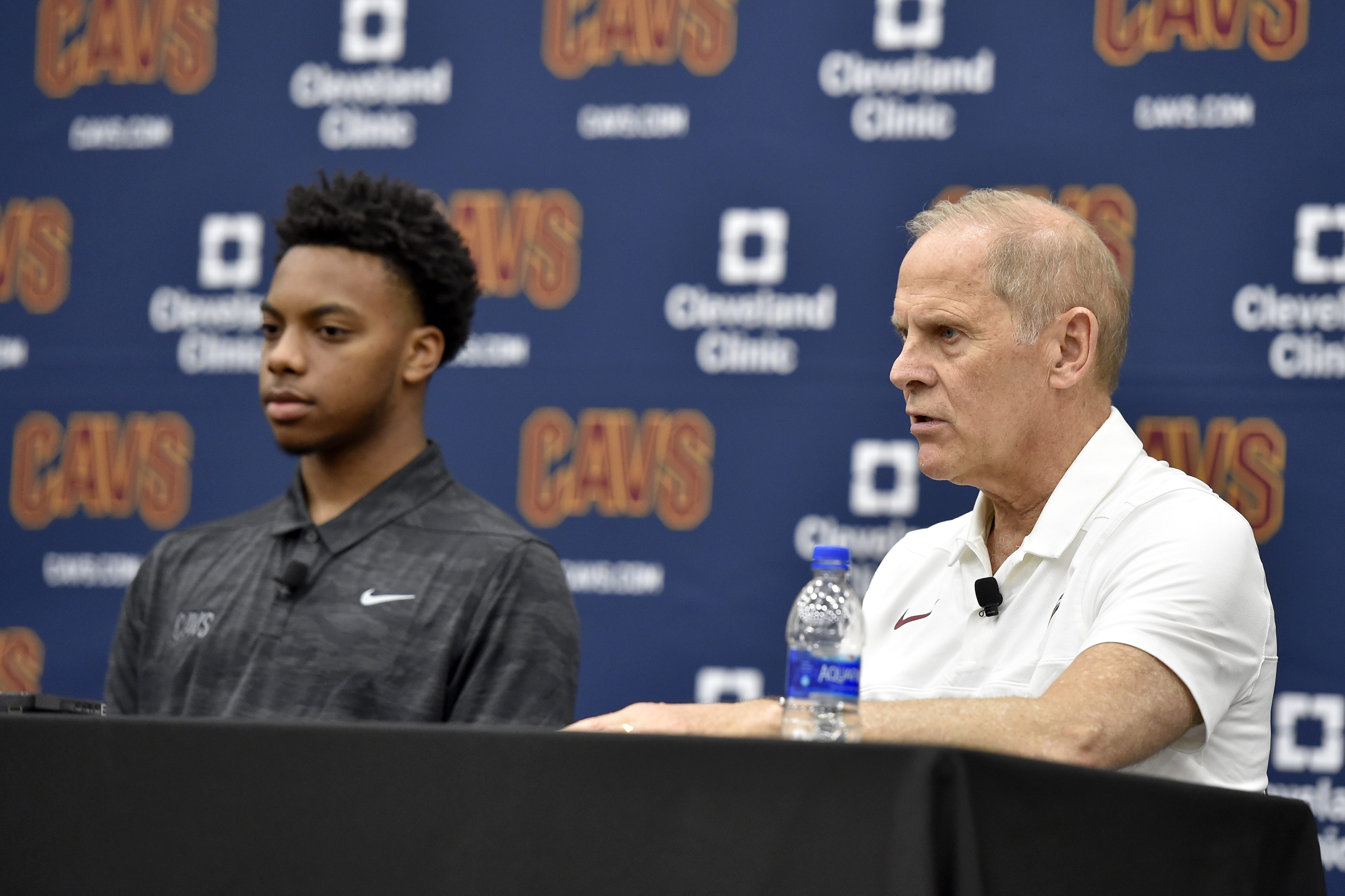 Cleveland Cavaliers Introduce Darius Garland and Dylan Windler