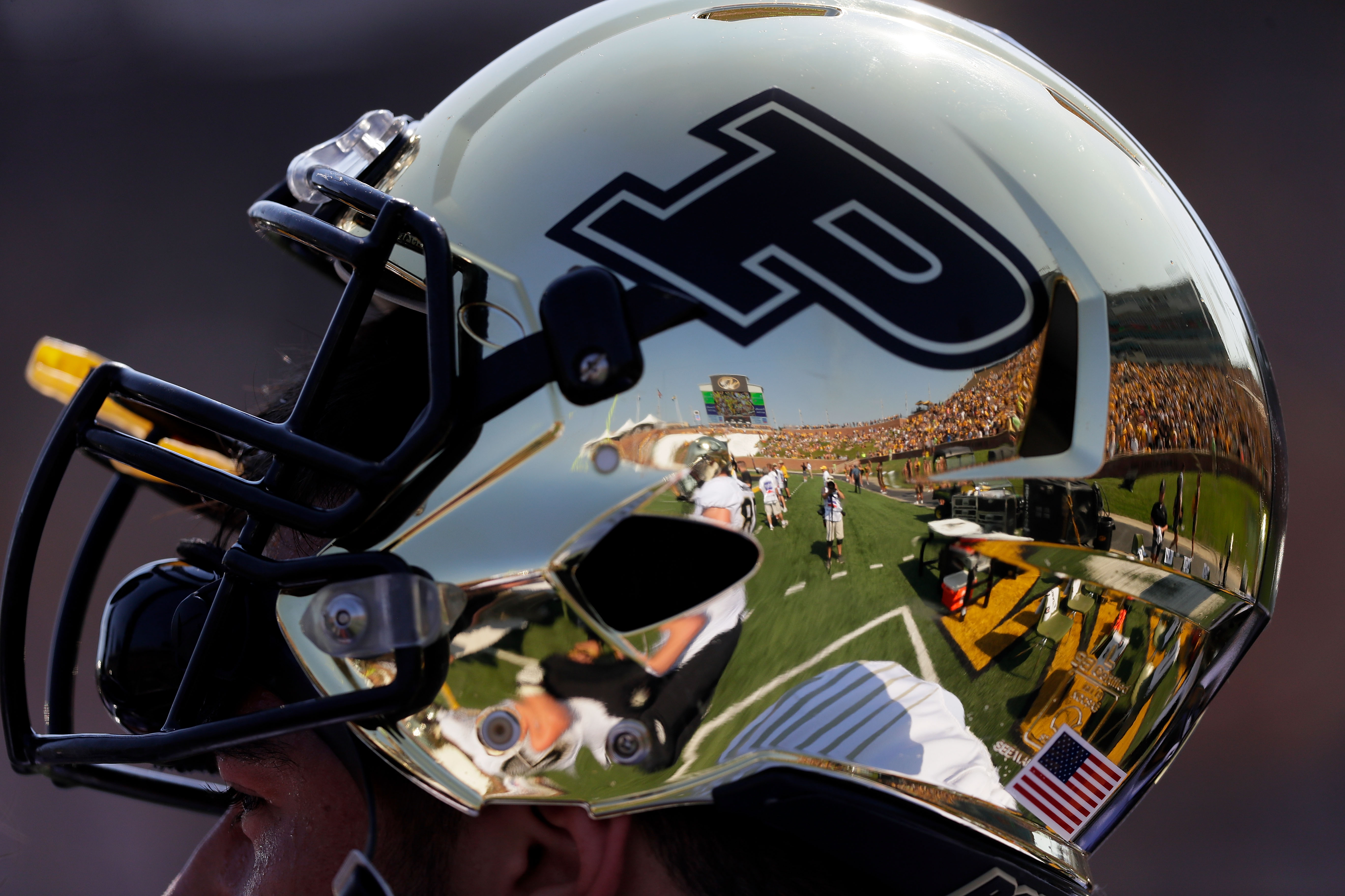 Purdue football helmet