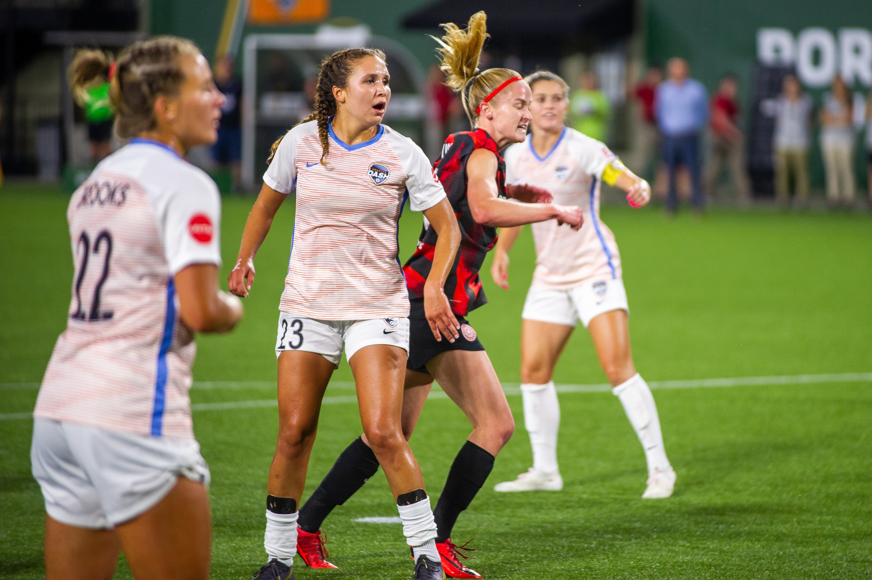 SOCCER: JUL 24 NWSL - Houston Dash at Portland Thorns FC