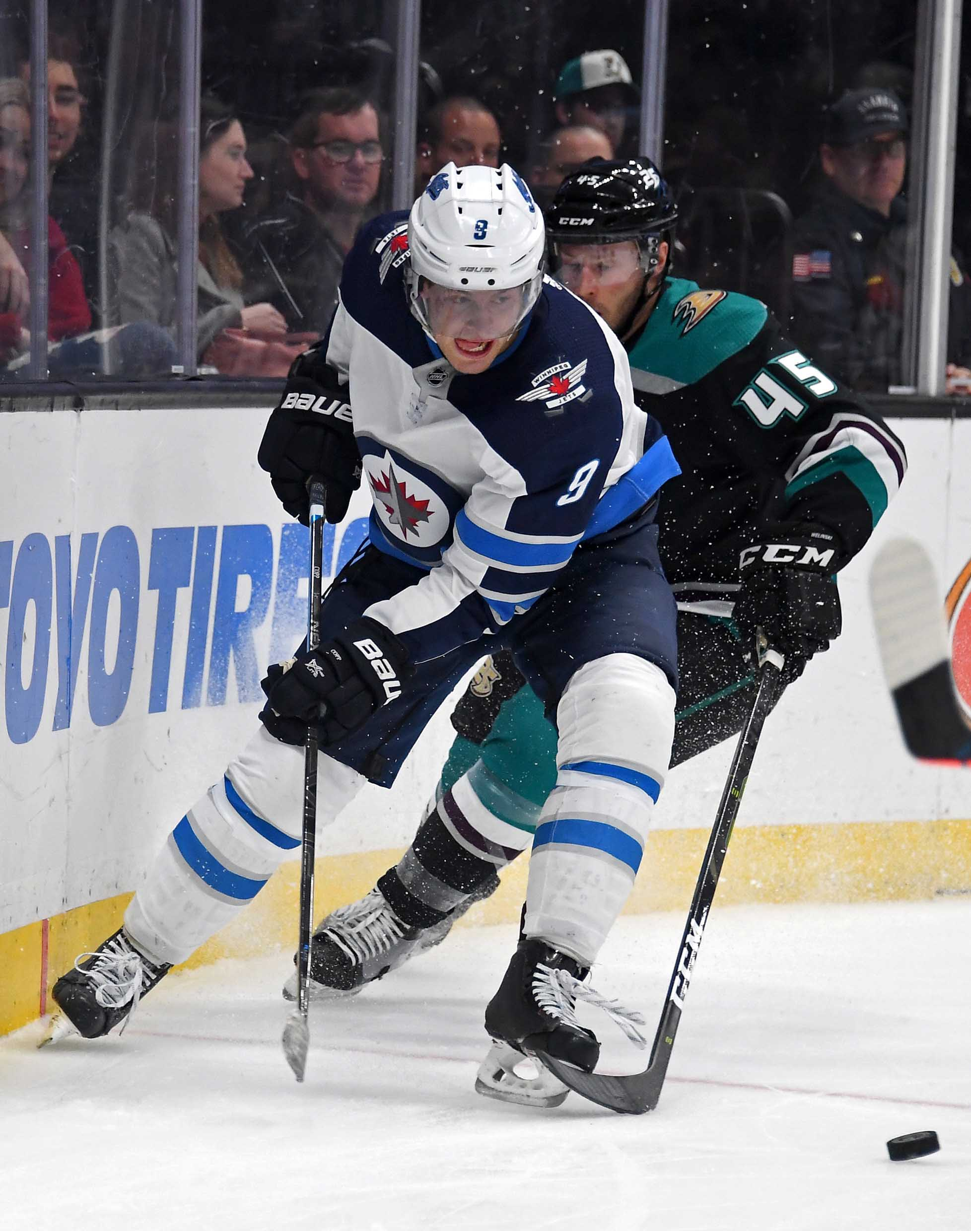NHL: Winnipeg Jets at Anaheim Ducks