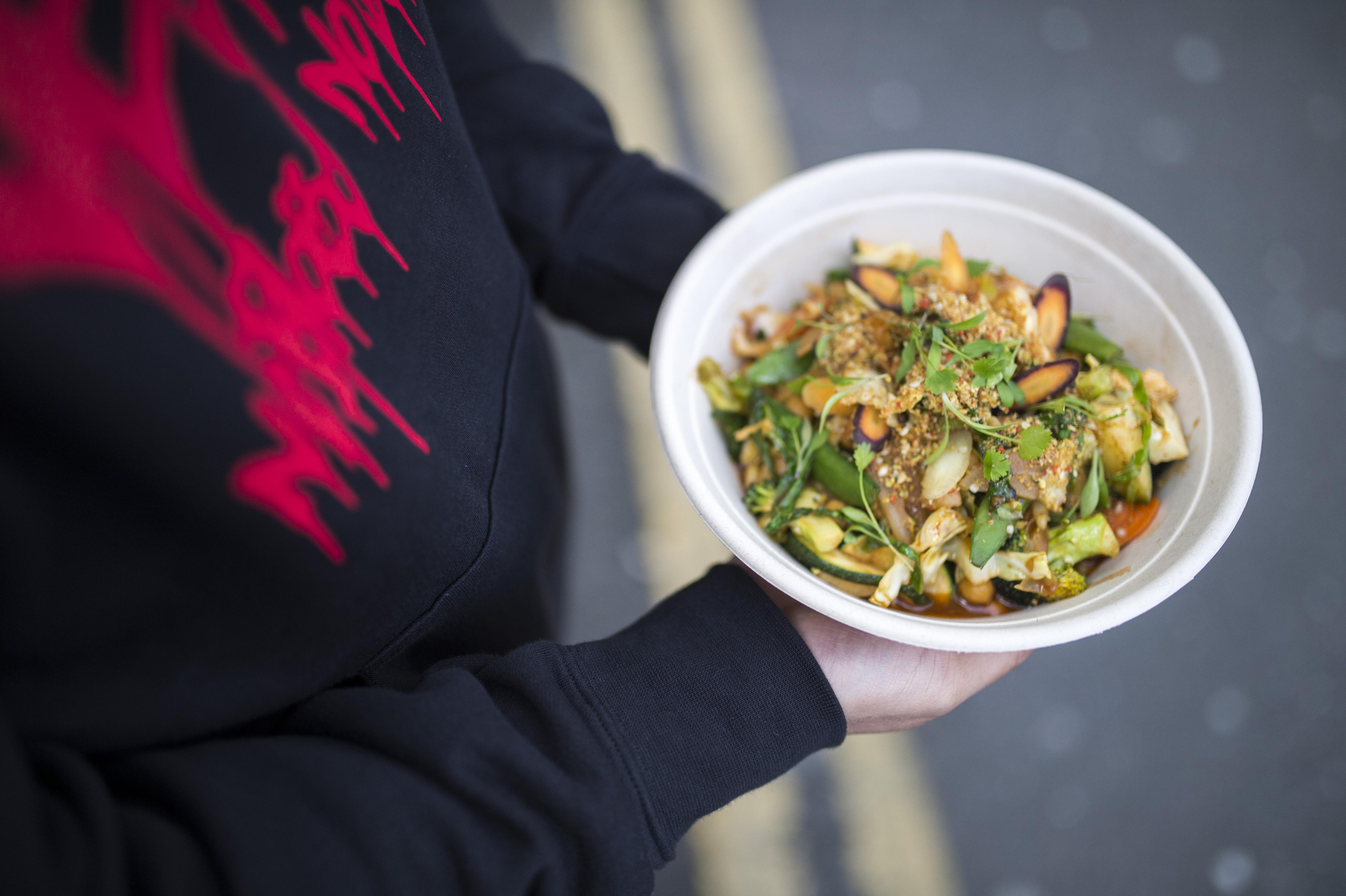 Market Halls Victoria signs London vegan restaurant Cook Daily