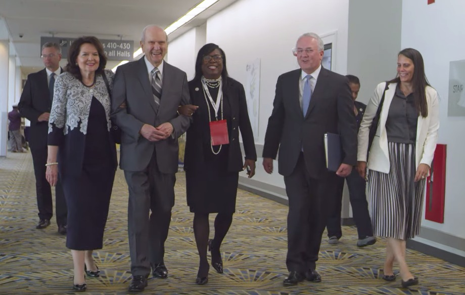President Russell M. Nelson and leaders of the NAACP in a new Church News video about their strategic partnership.
