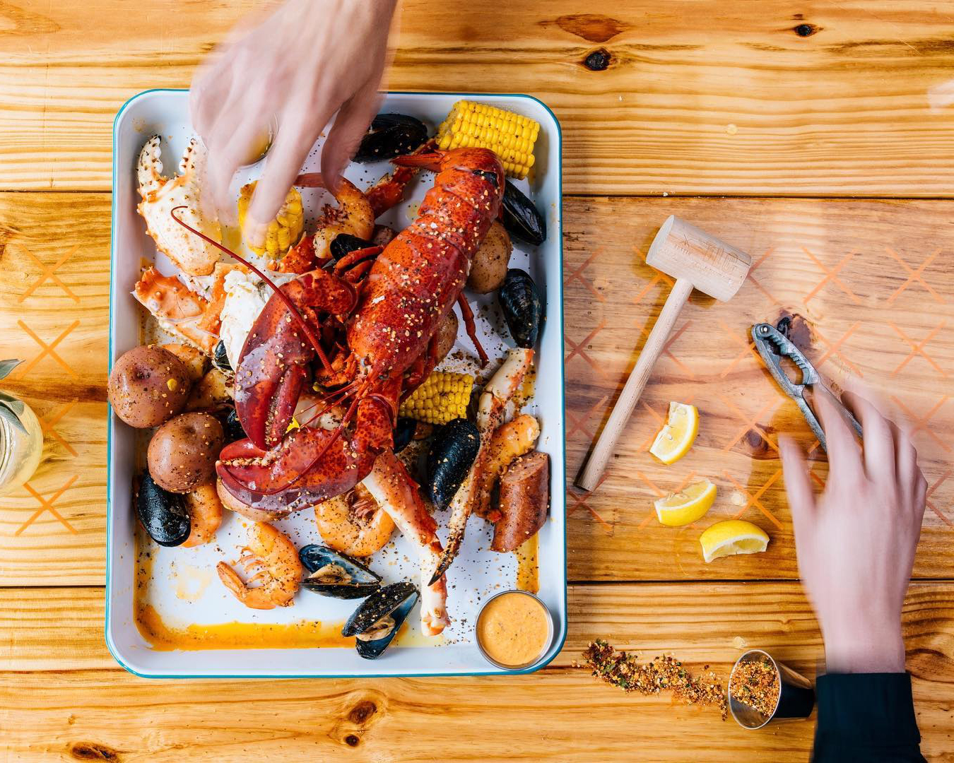 TLC's lobster boil