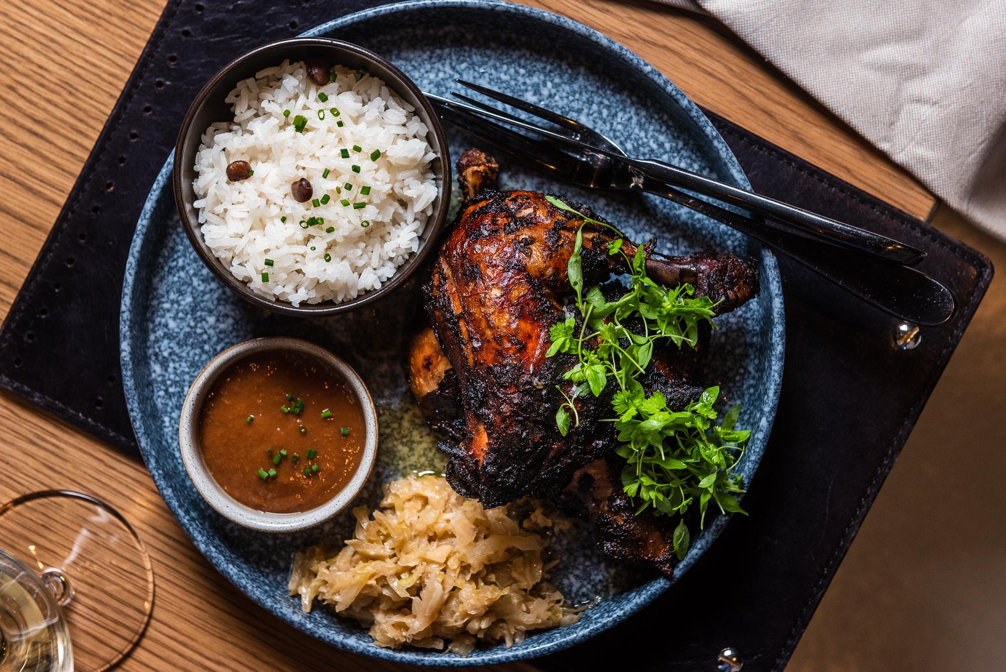 Jerk Chicken at Kith/Kin