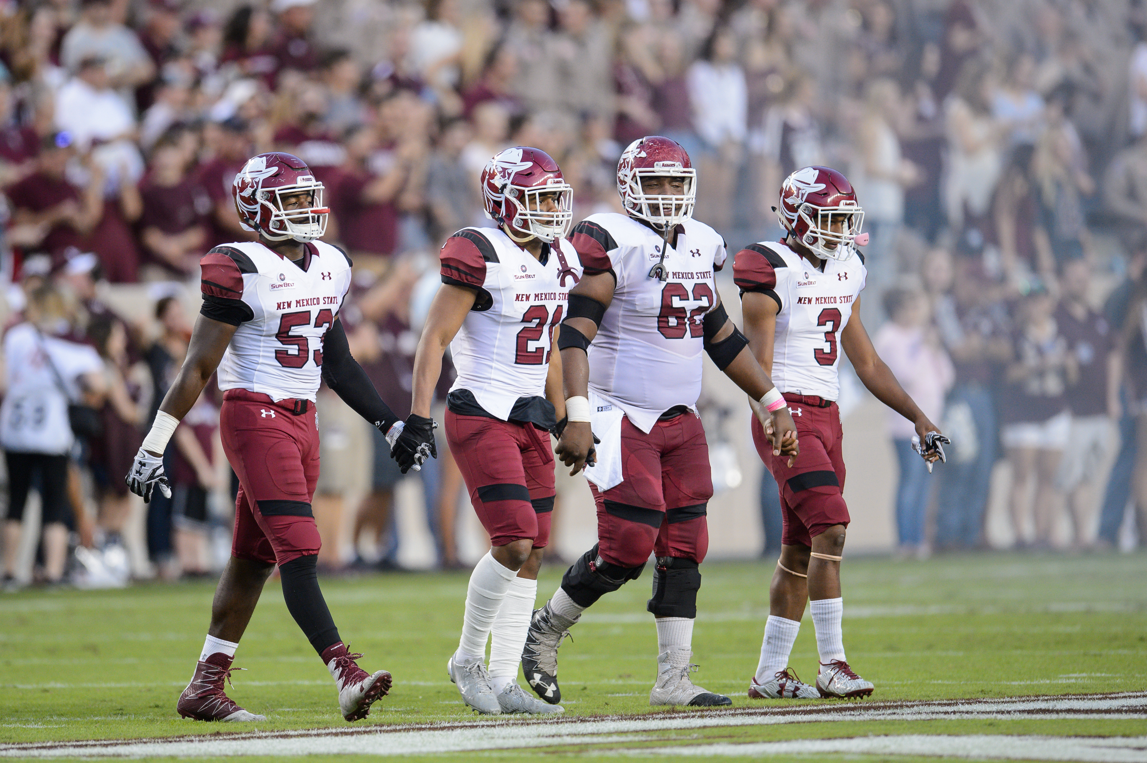 NCAA FOOTBALL: OCT 29 New Mexico State at Texas A&M