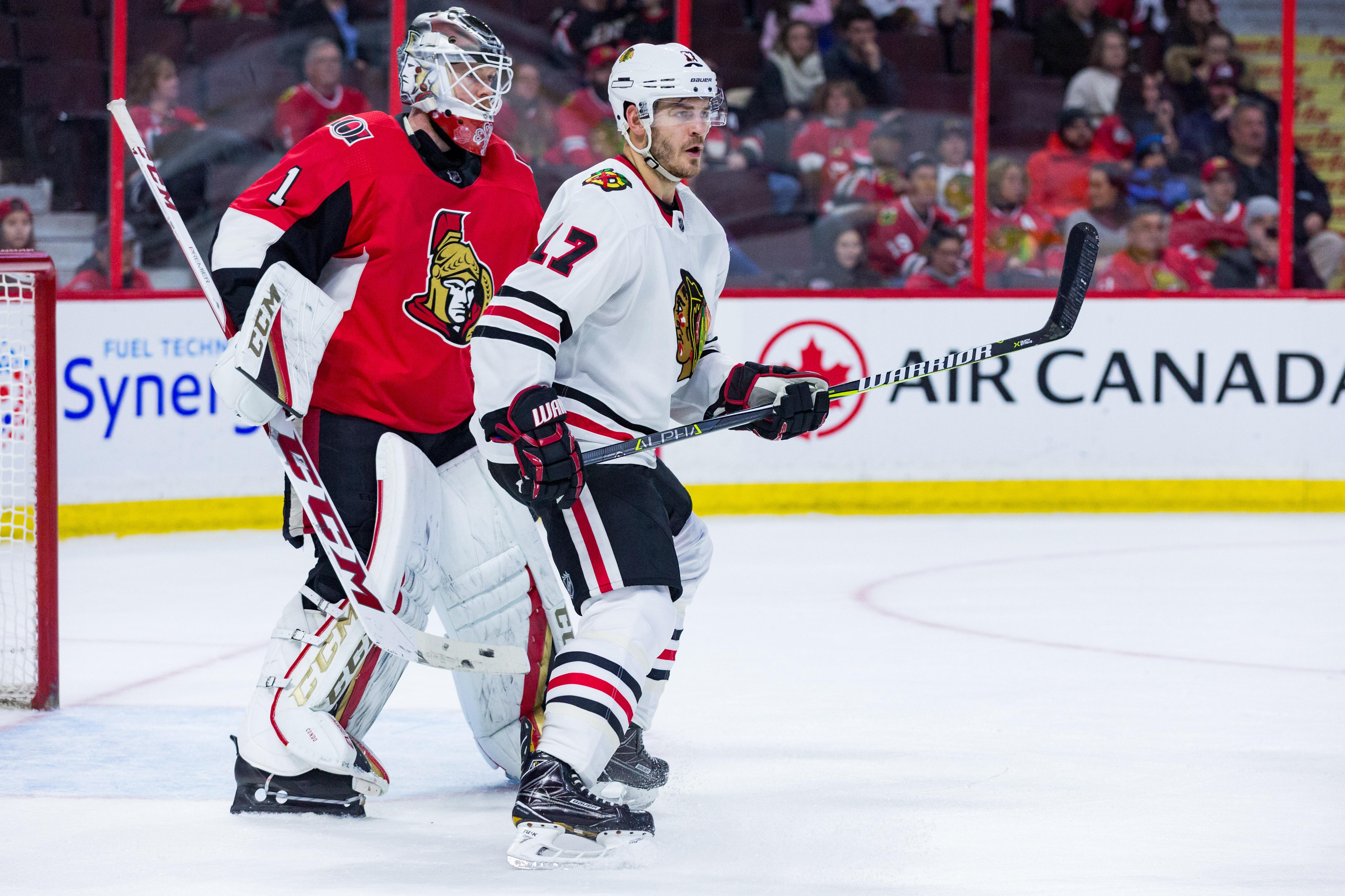 NHL: JAN 09 Blackhawks at Senators