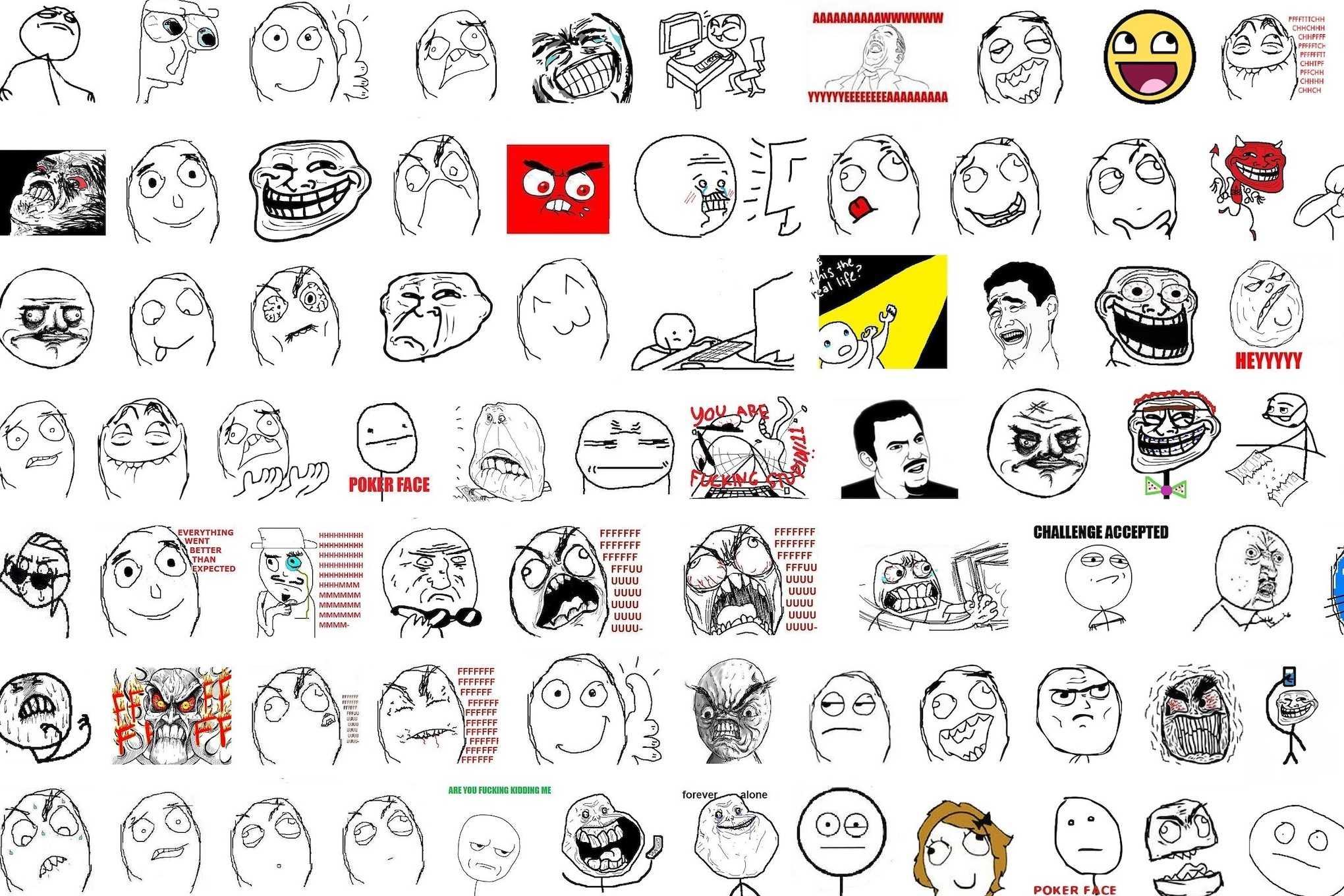 There are still people making rage comics in 2019, despite everything